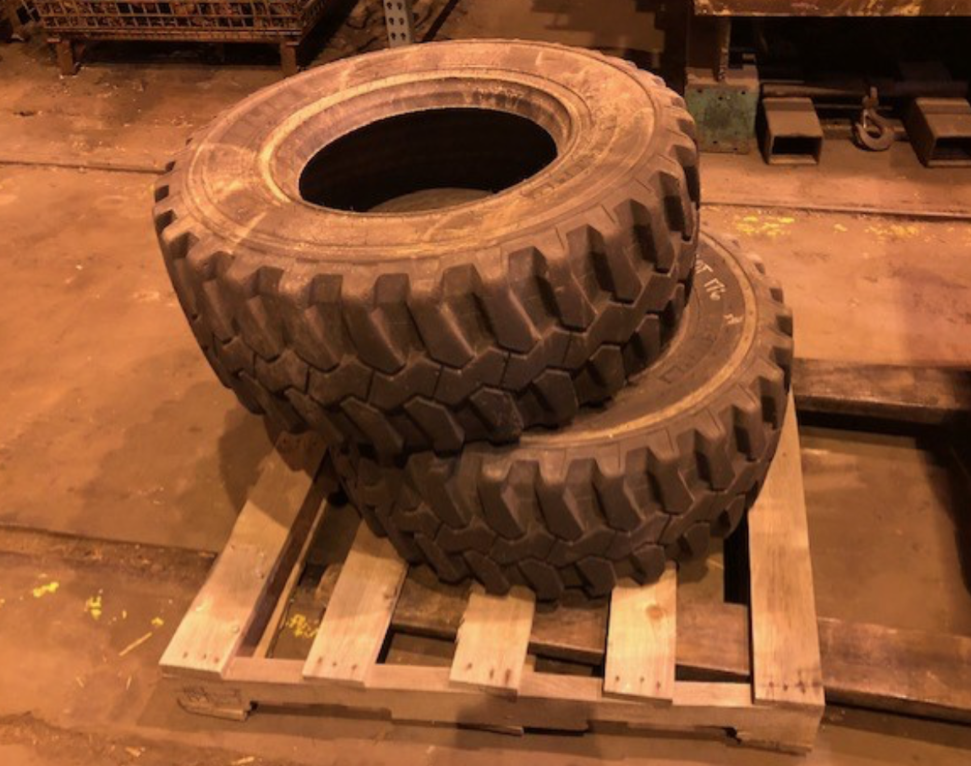 Lot 43a - Lot of Two Skid Steer Tires