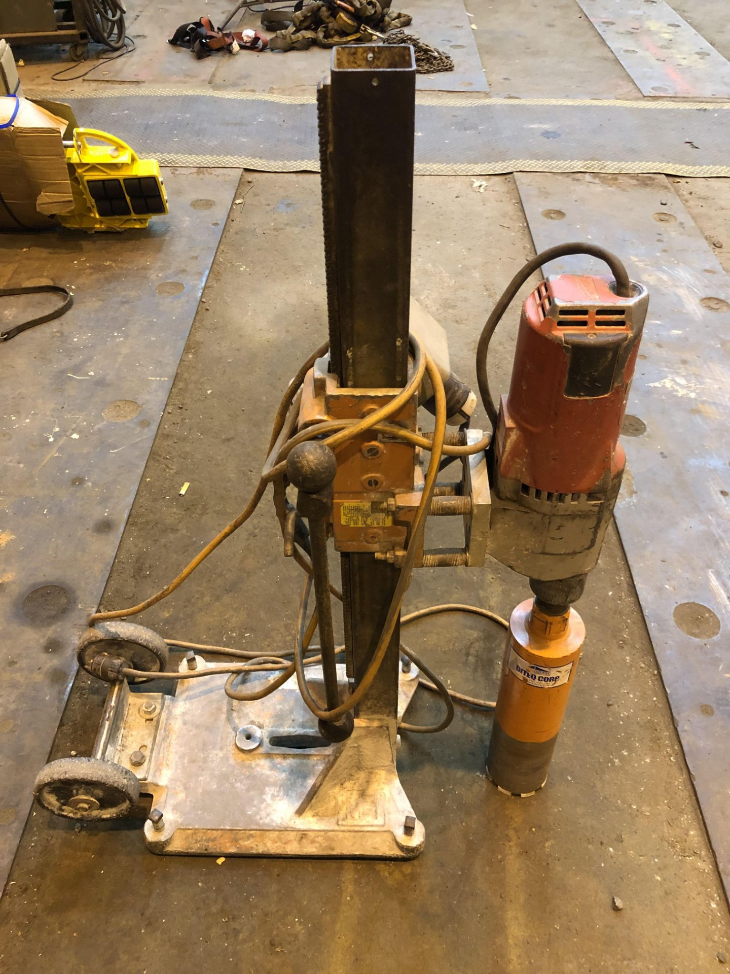 "Lot 11 - Core Drill with 4"" Bit"