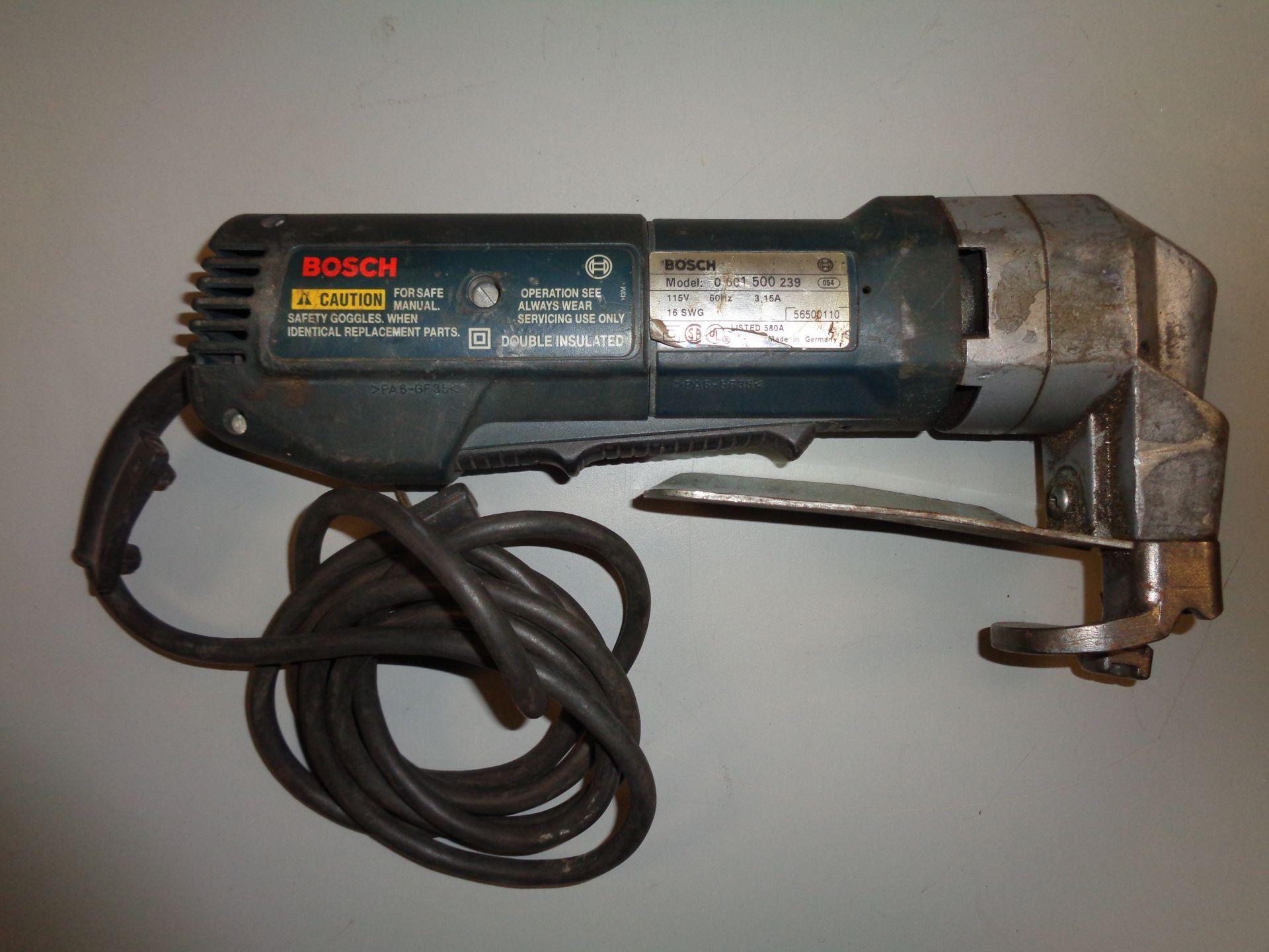 Lot 9C - Bosch 1500B Shear
