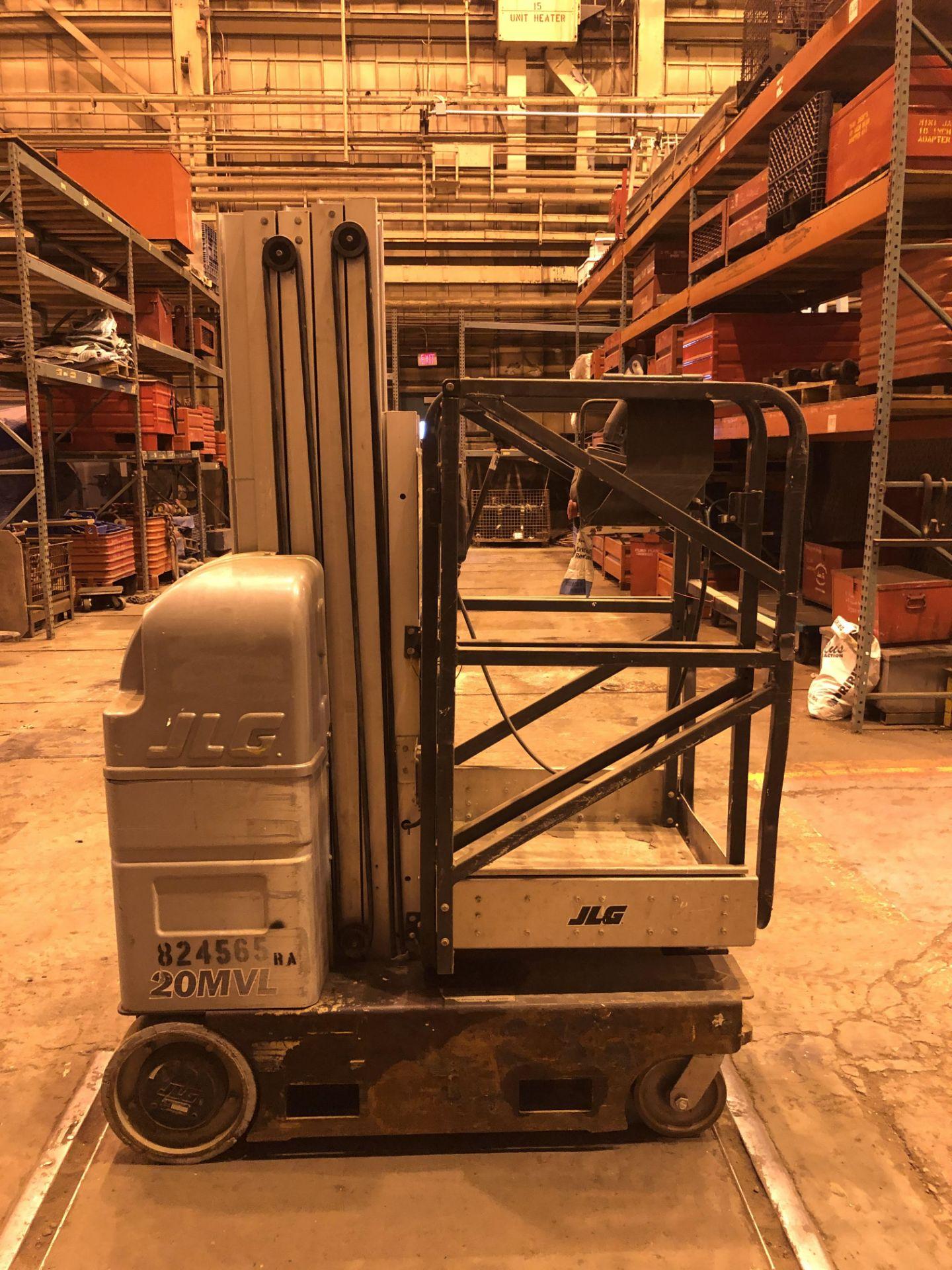 Lot 12 - JLG 20MVL Personal Lift