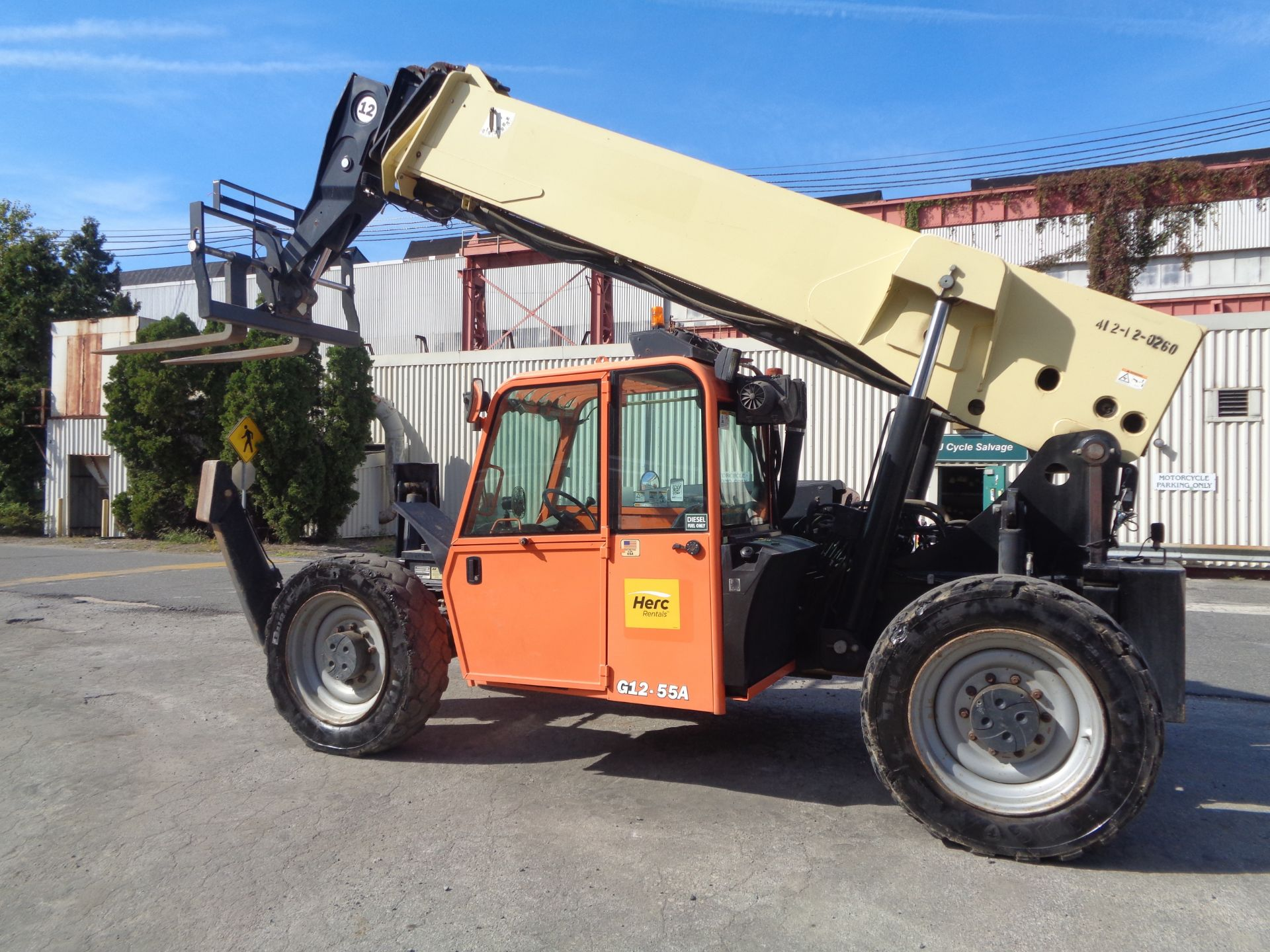 Lot 49 - 2013 JLG G1255A 12,000lb Telescopic Forklift