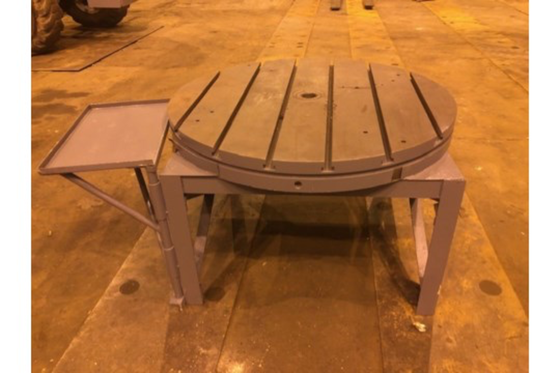 "Lot 9 - 48"" T Slotted Table"