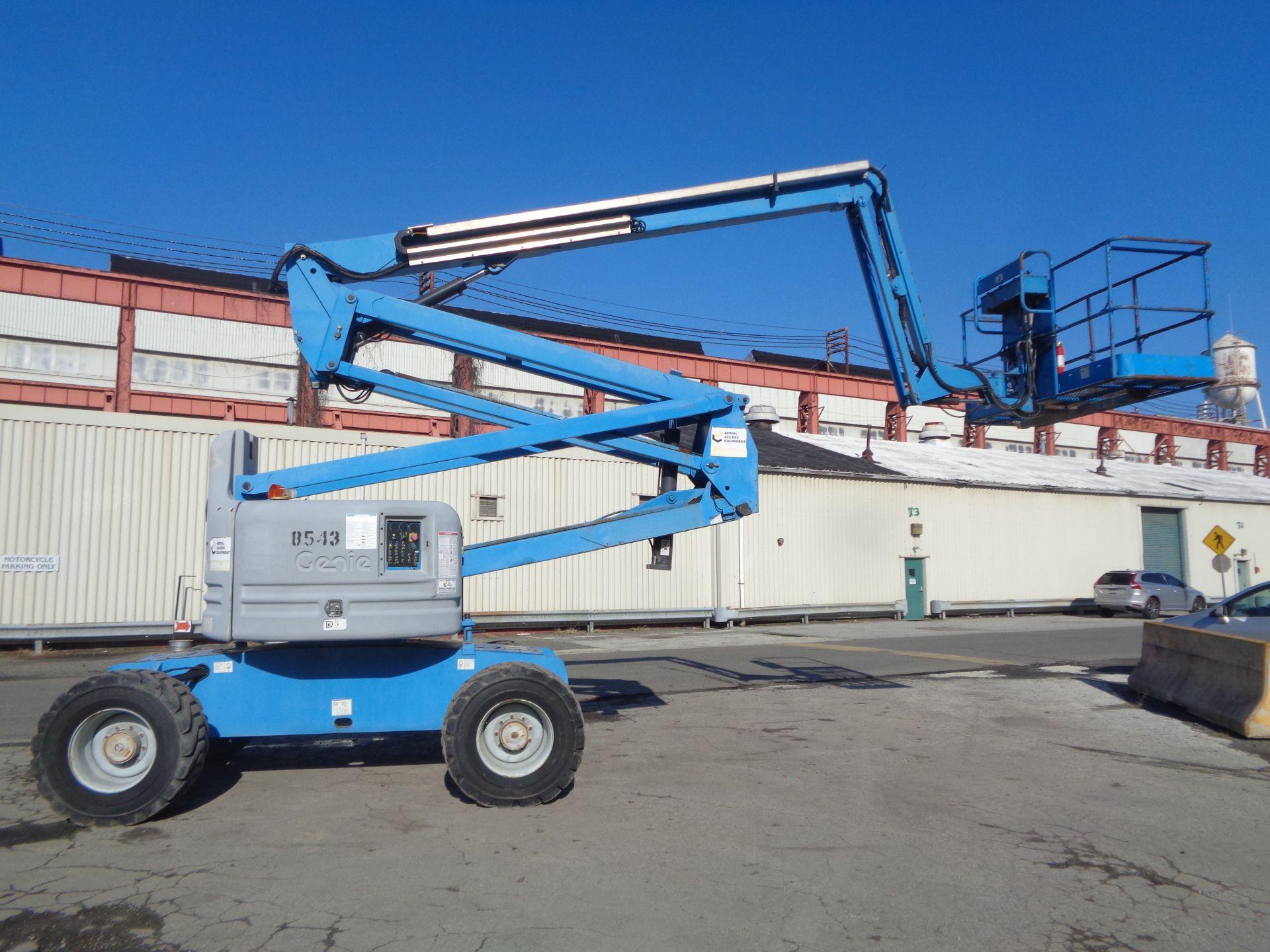 Lot 42 - 2007 Genie Z60/34 60FT Boom Lift
