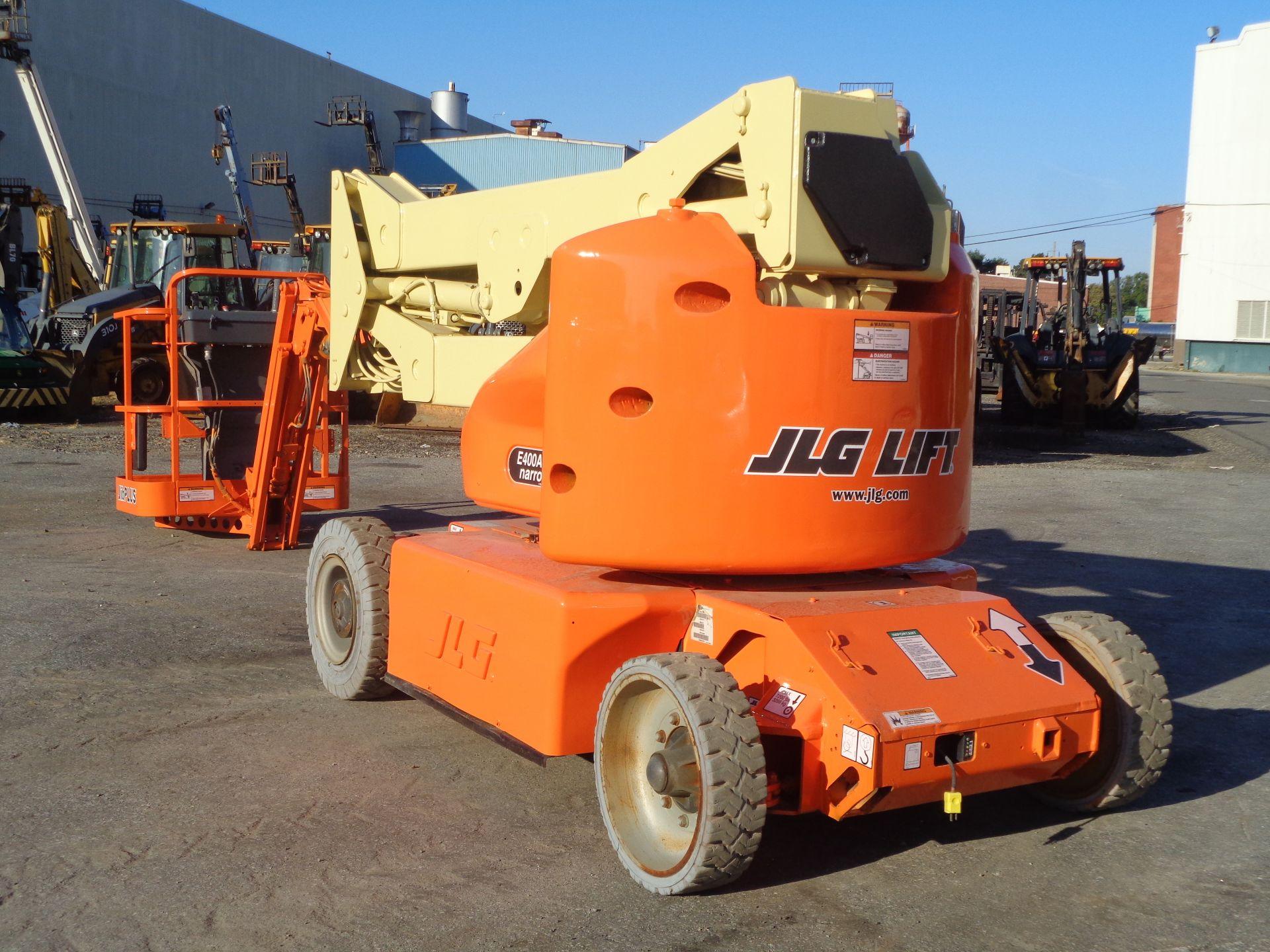 Lot 38 - 2011 JLG E400AJPN 40ft Electric Boom Lift