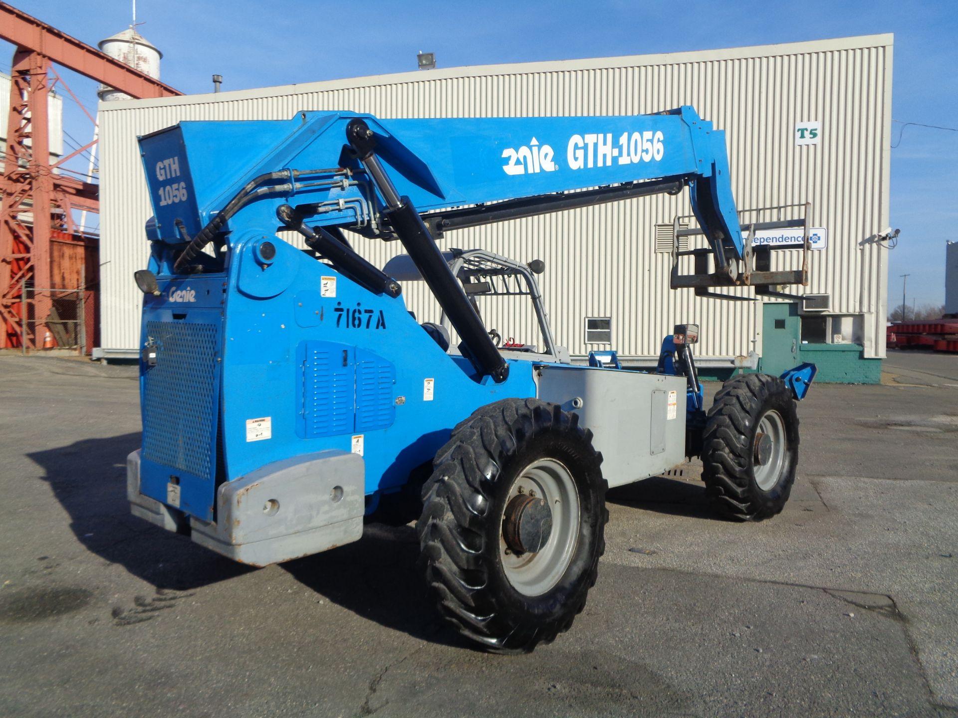 Lot 51 - 2013 Genie GTH1056 10,000lb Telescopic Forklift