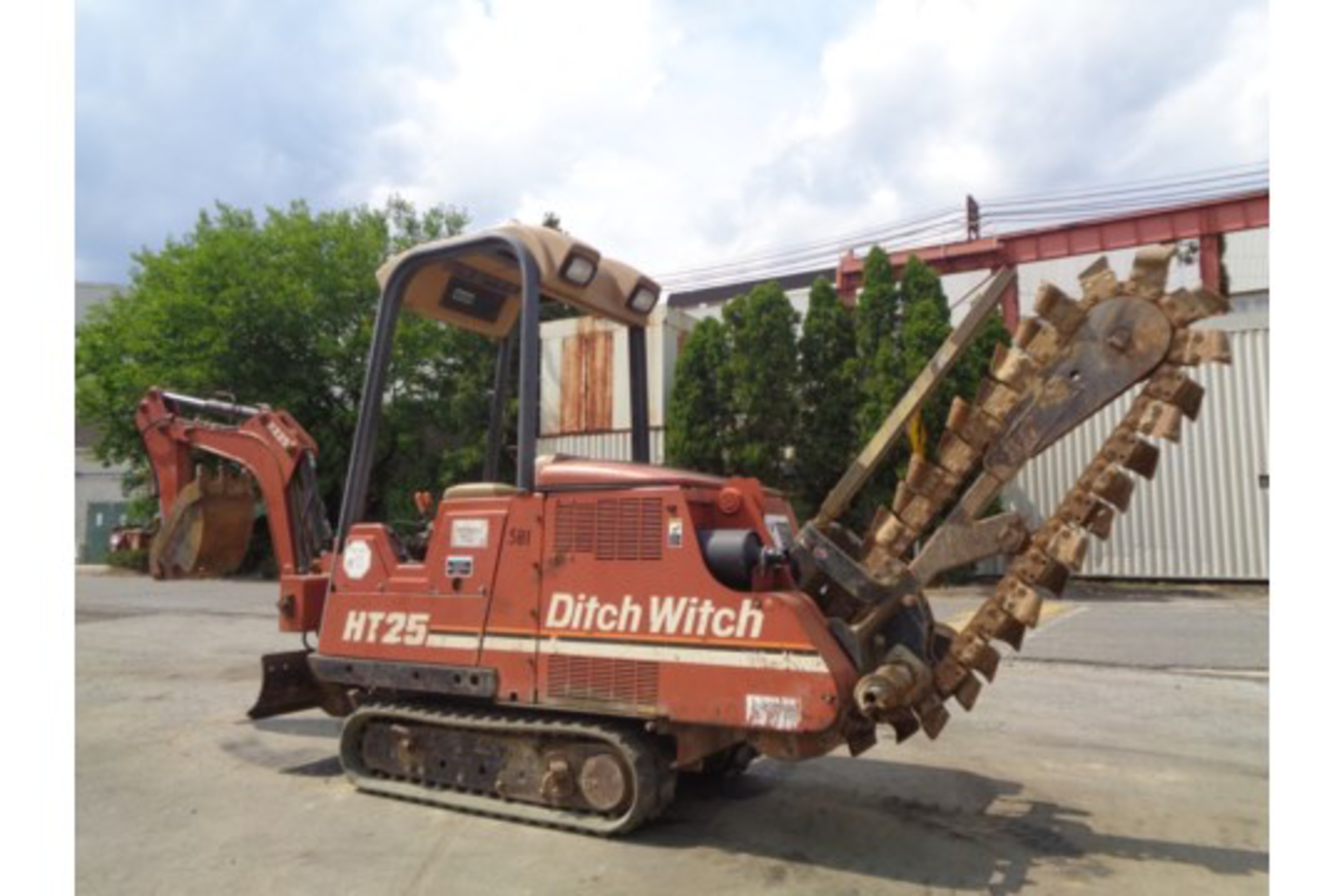 Lot 19 - Ditch Witch HT25K Trencher and Backhoe