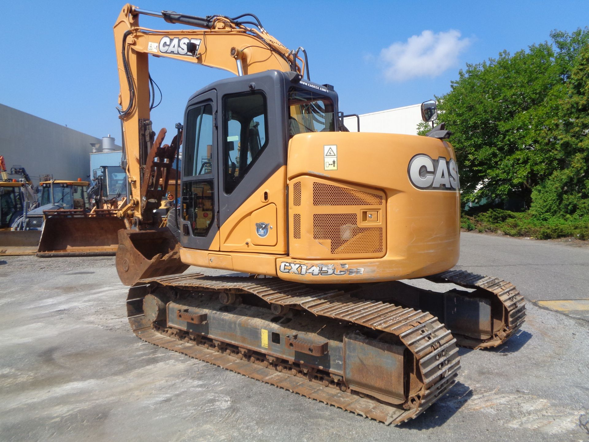 Lot 23 - 2014 Case CX145C Excavator