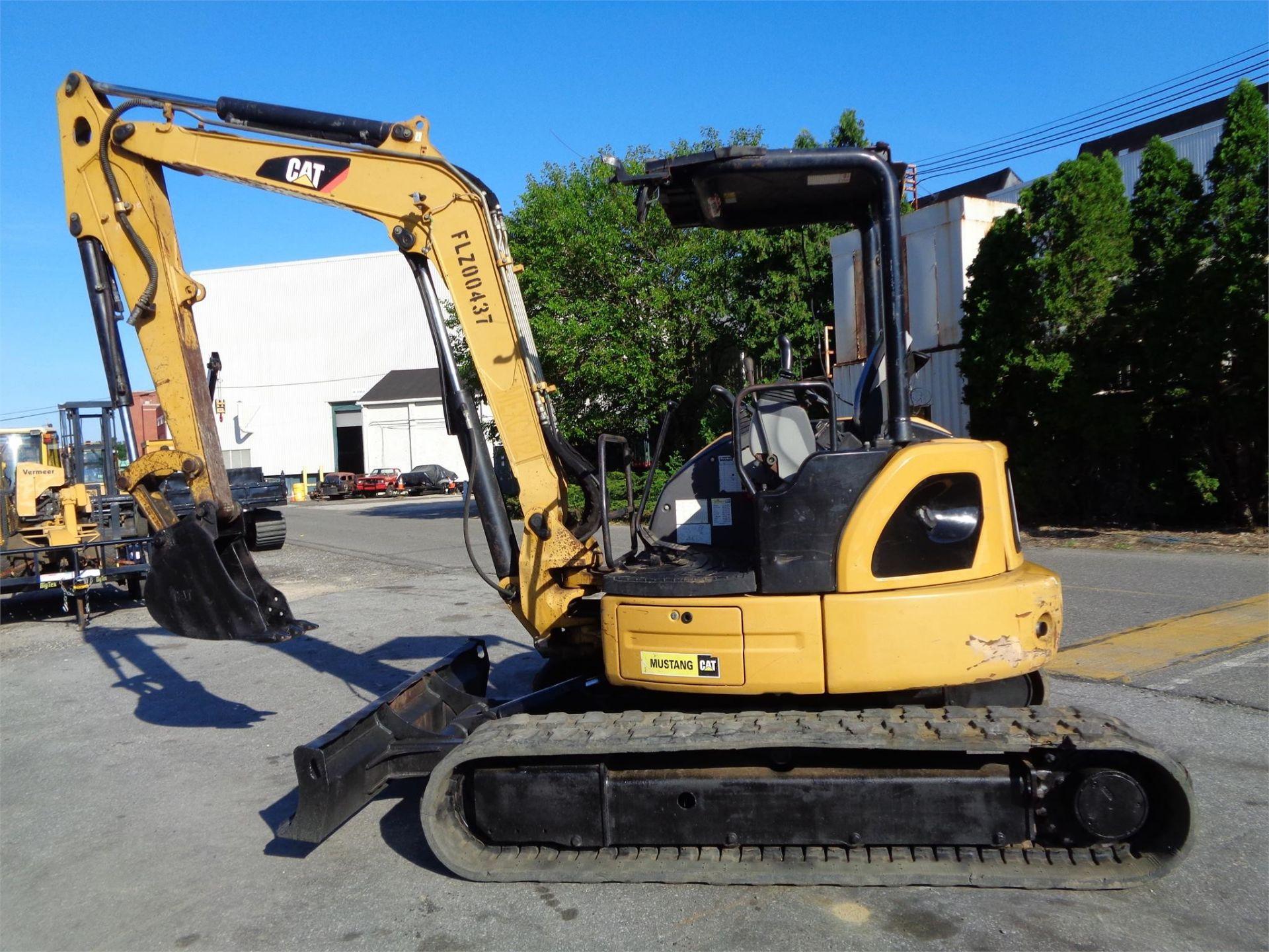 Lot 24 - 2011 Caterpillar 305.5D CR Mini Hydraulic Excavator