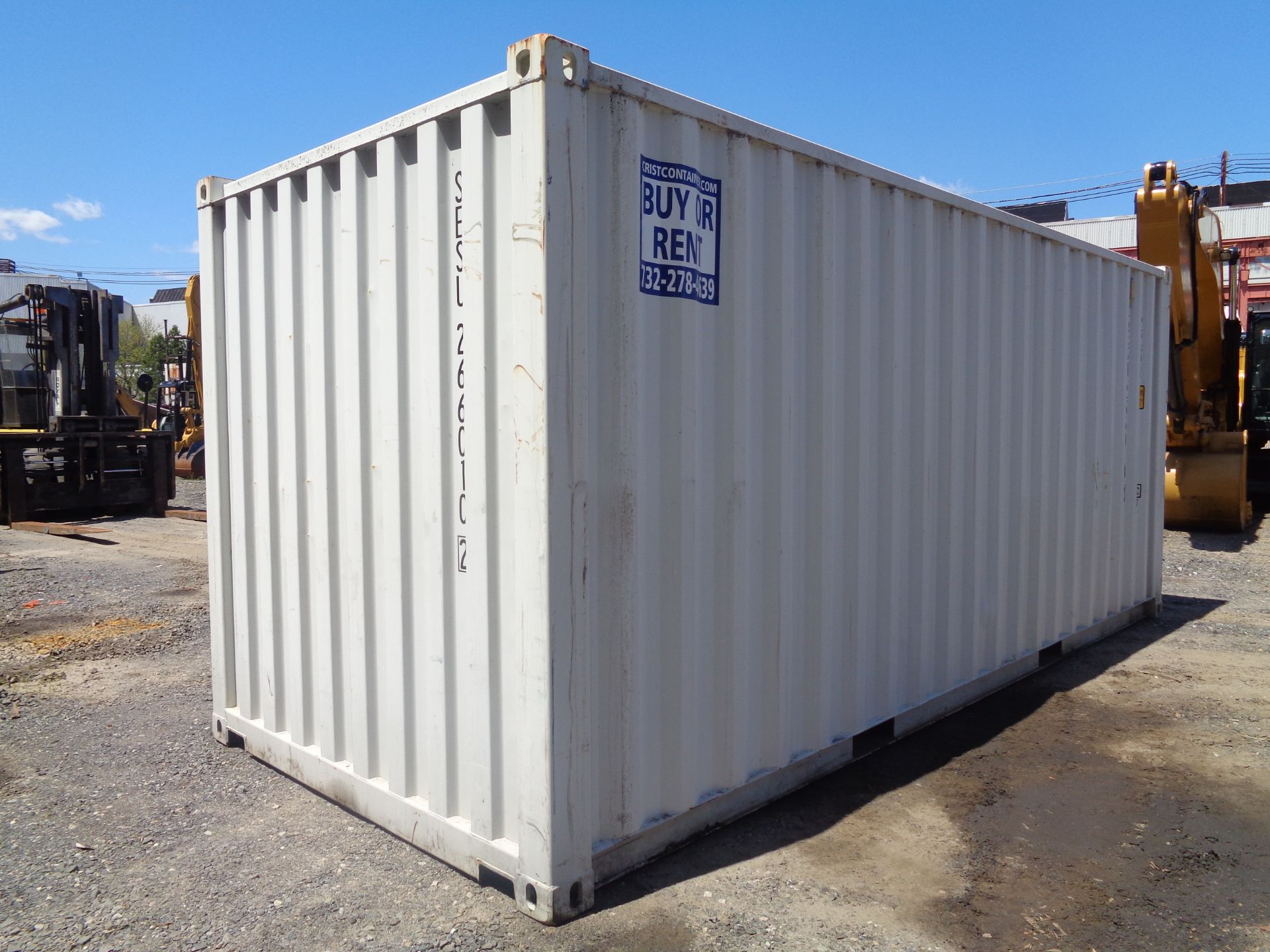 Lot 45 - 20ft Shipping Container