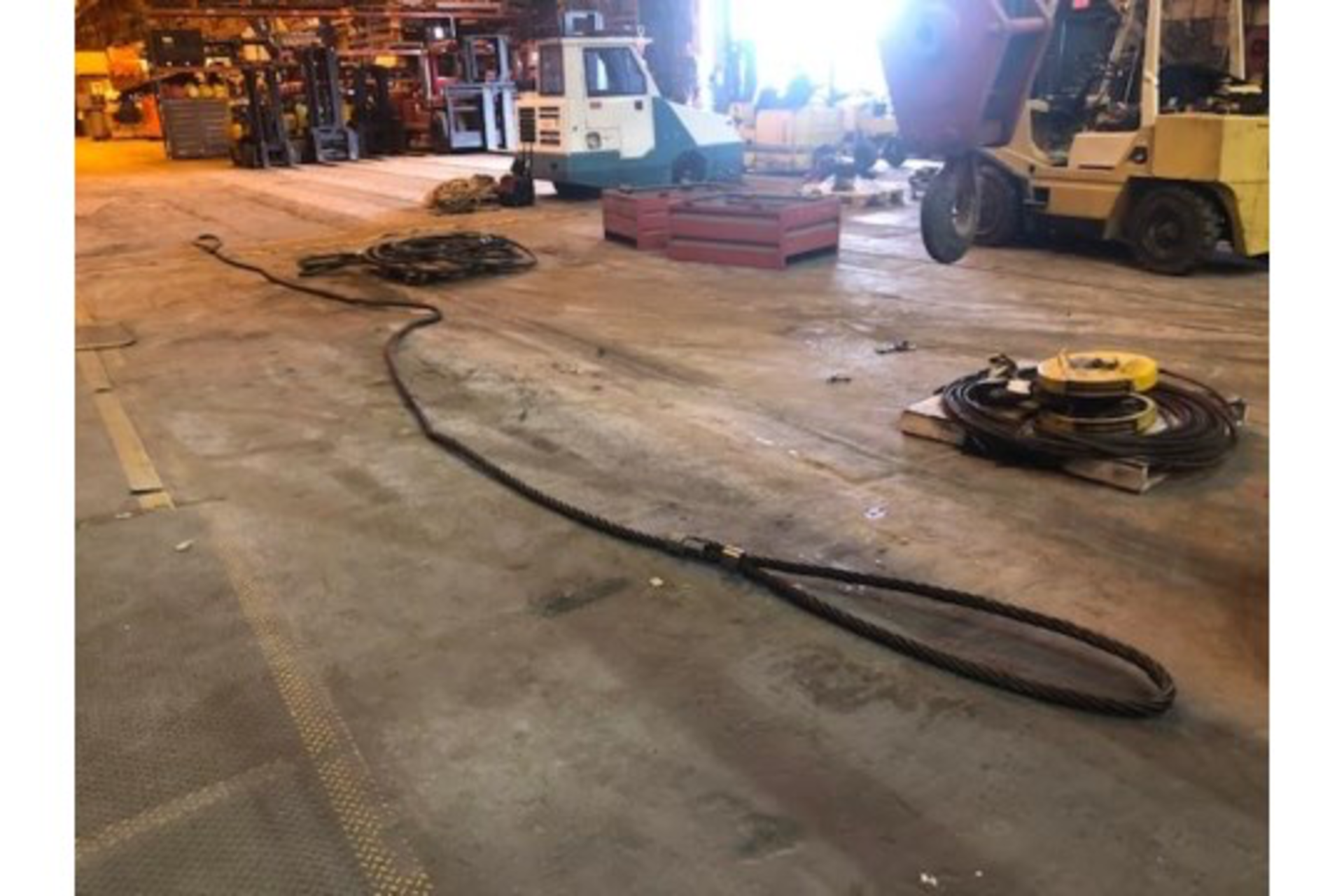 Lot 6 - 3 Steel Cables