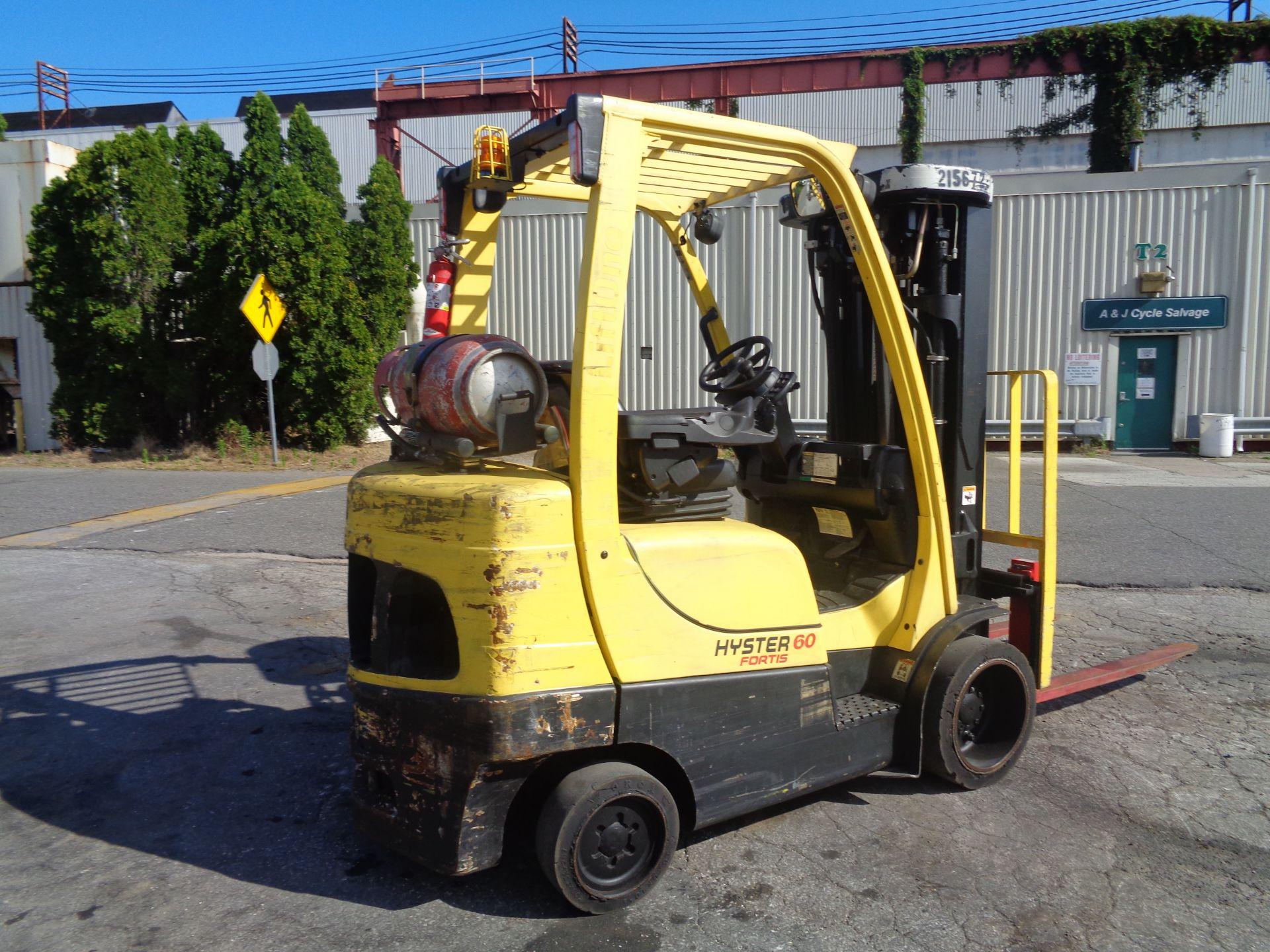 2012 Hyster S60FT 6,000lb Forklift - Quad Mast - Image 8 of 13