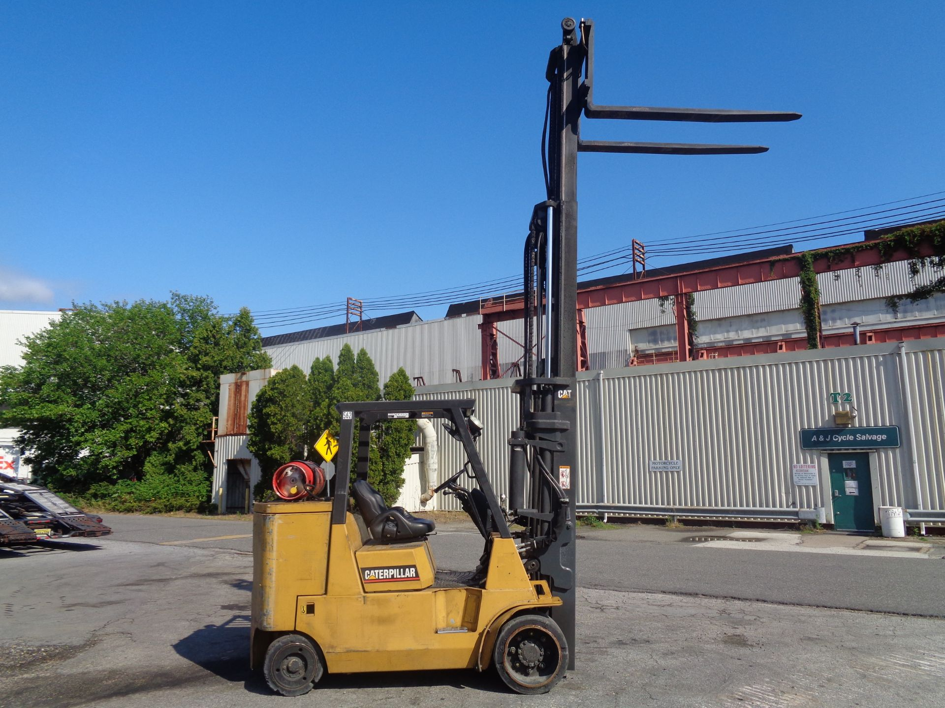 Caterpillar GC55KSTR 11,000lb Forklift - Image 14 of 14