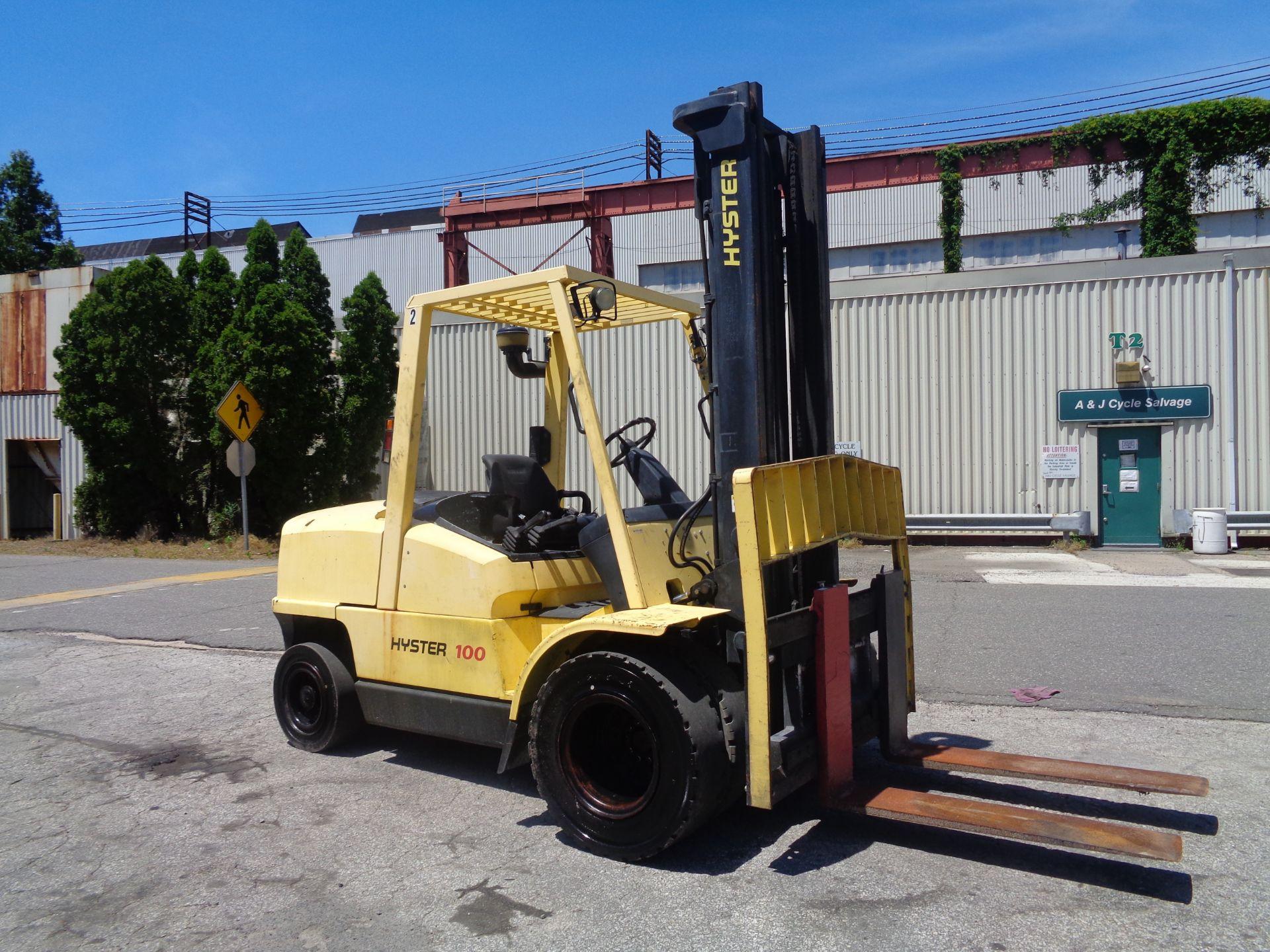 Hyster H100XM 10,000lb Forklift - Image 2 of 10