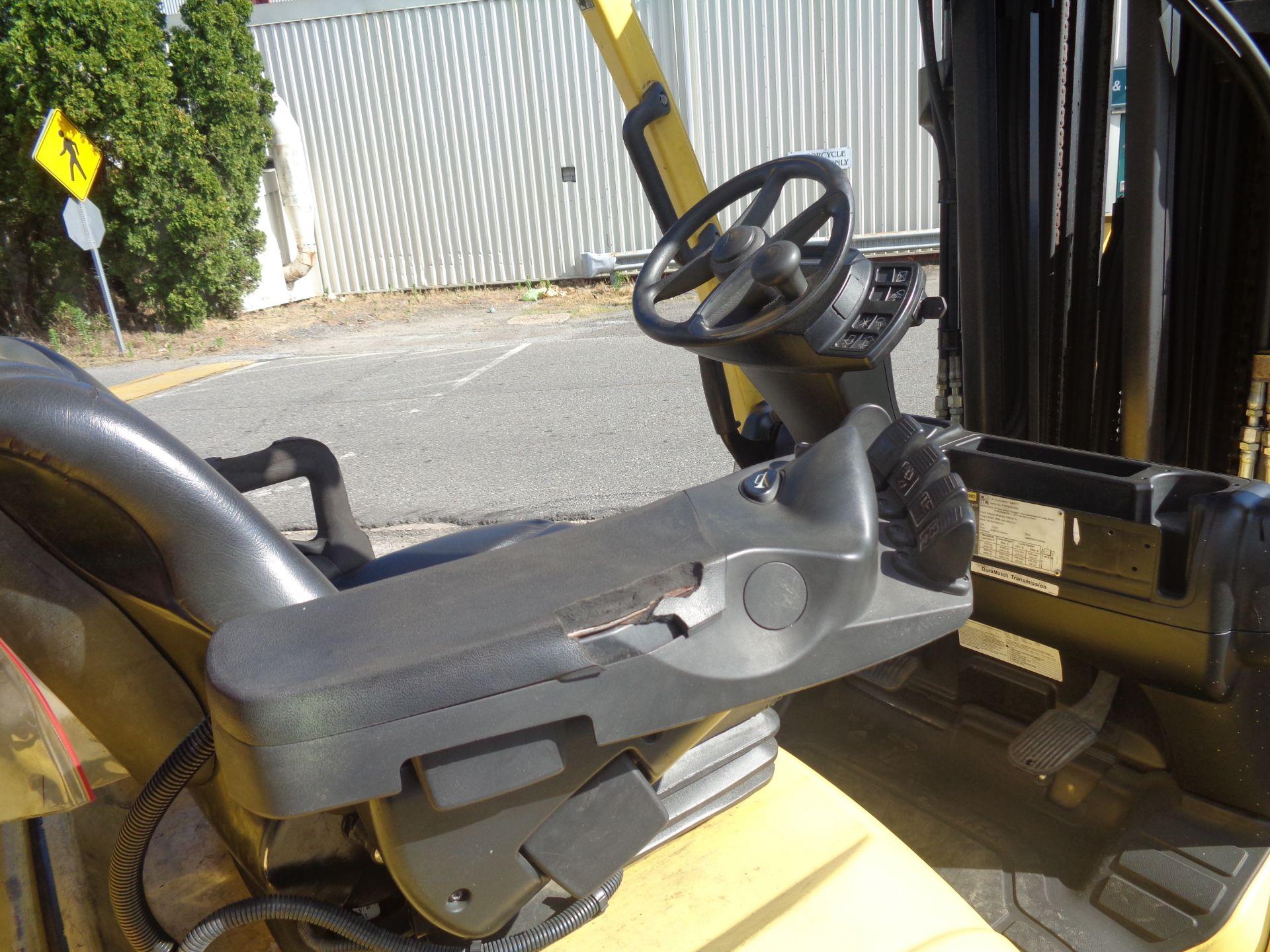 2012 Hyster S60FT 6,000lb Forklift - Quad Mast - Image 9 of 13