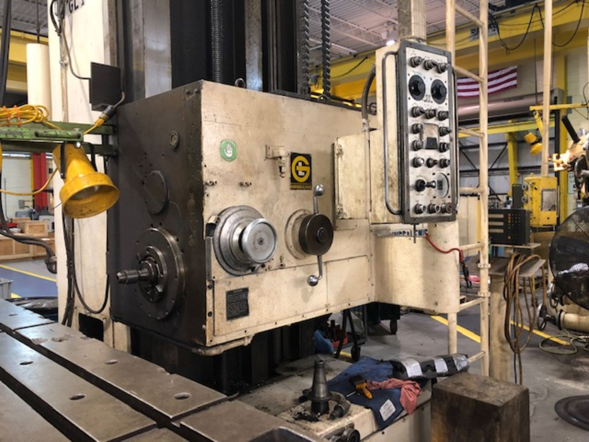Lot 18 - 5in Giddings and Lewis Horizontal Boring Mill