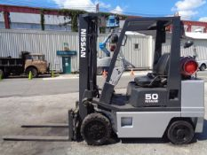 Nissan KCPH02A25PV 4,400 lb Forklift