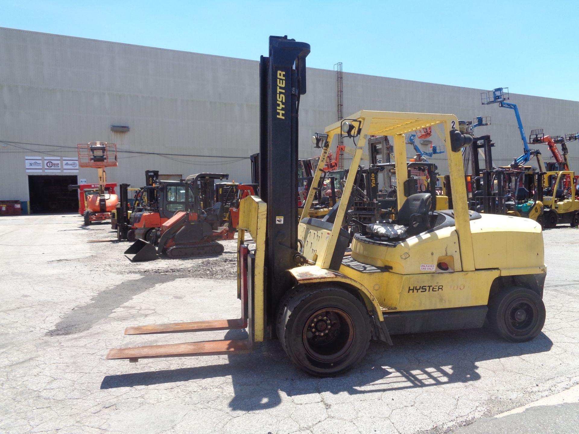 Hyster H100XM 10,000lb Forklift - Image 6 of 10