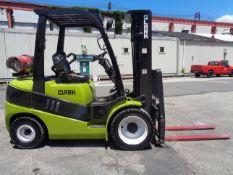 2014 Clark C30L 6,000lb Forklift