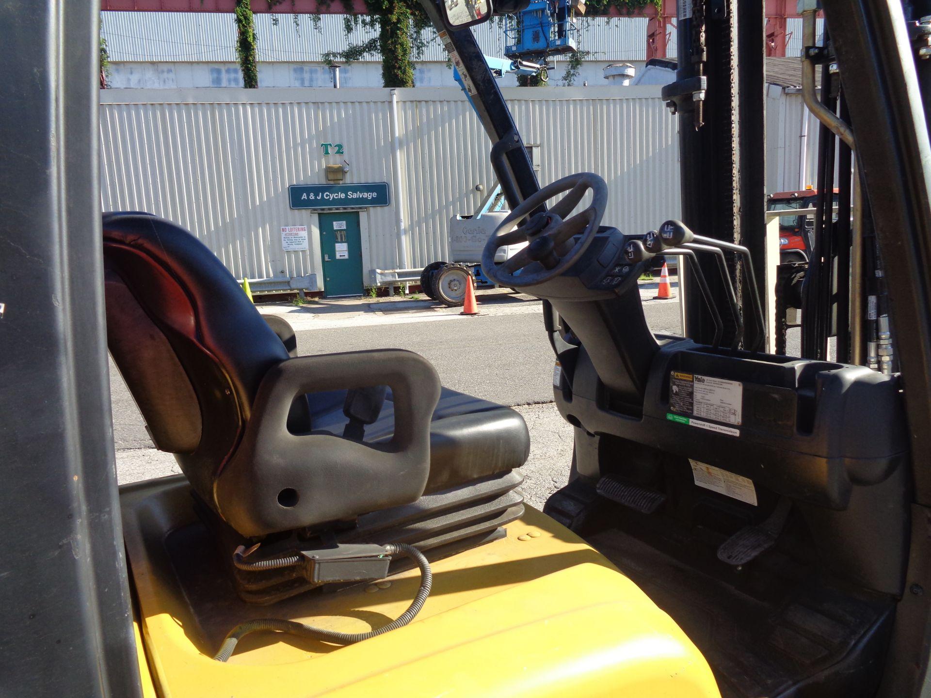 2014 Yale GLC050VXNVRE088 5,000 lb Forklift - Image 11 of 11