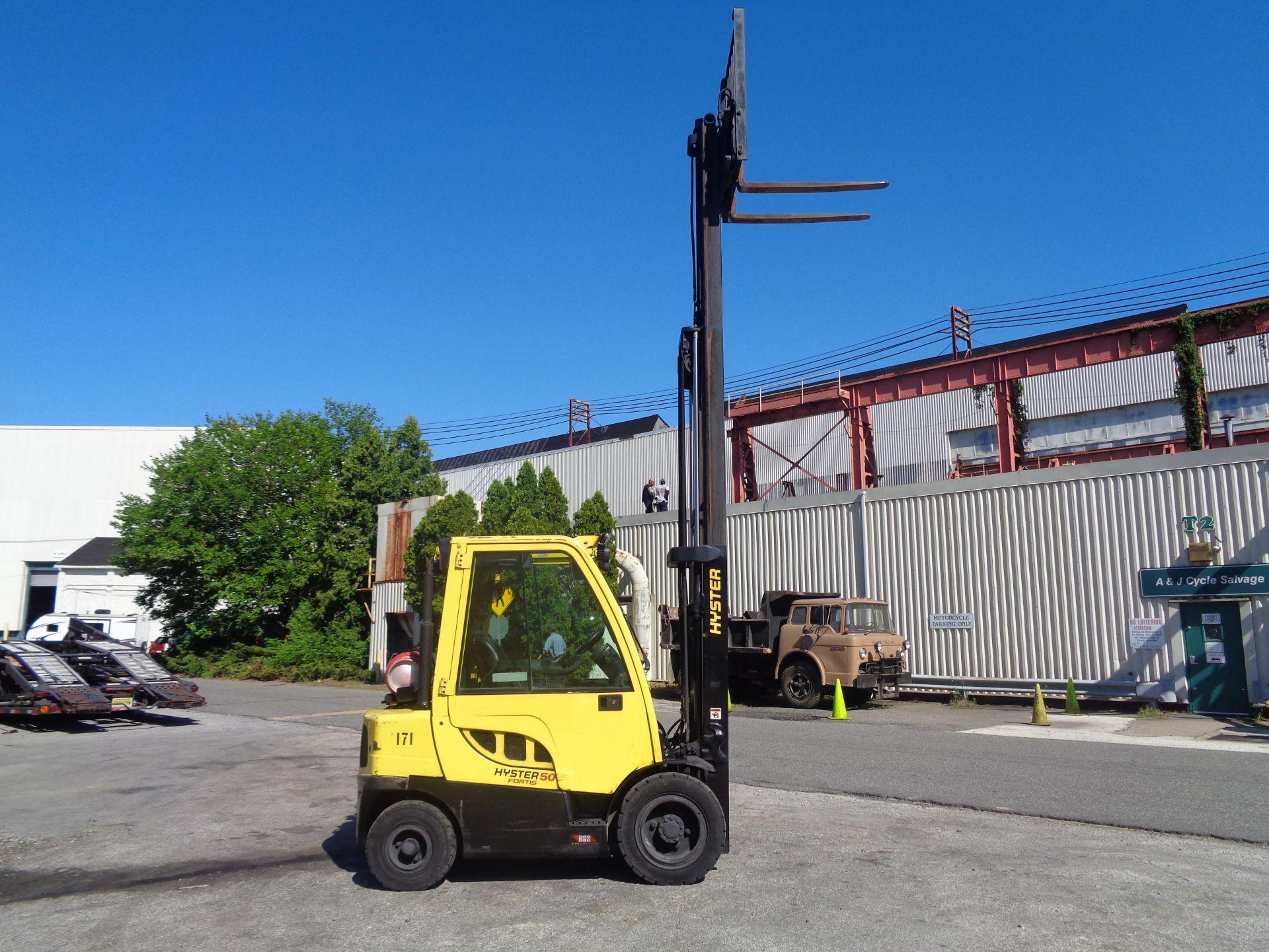 2015 Hyster H50FT 5,000 lb Forklift - Image 8 of 12