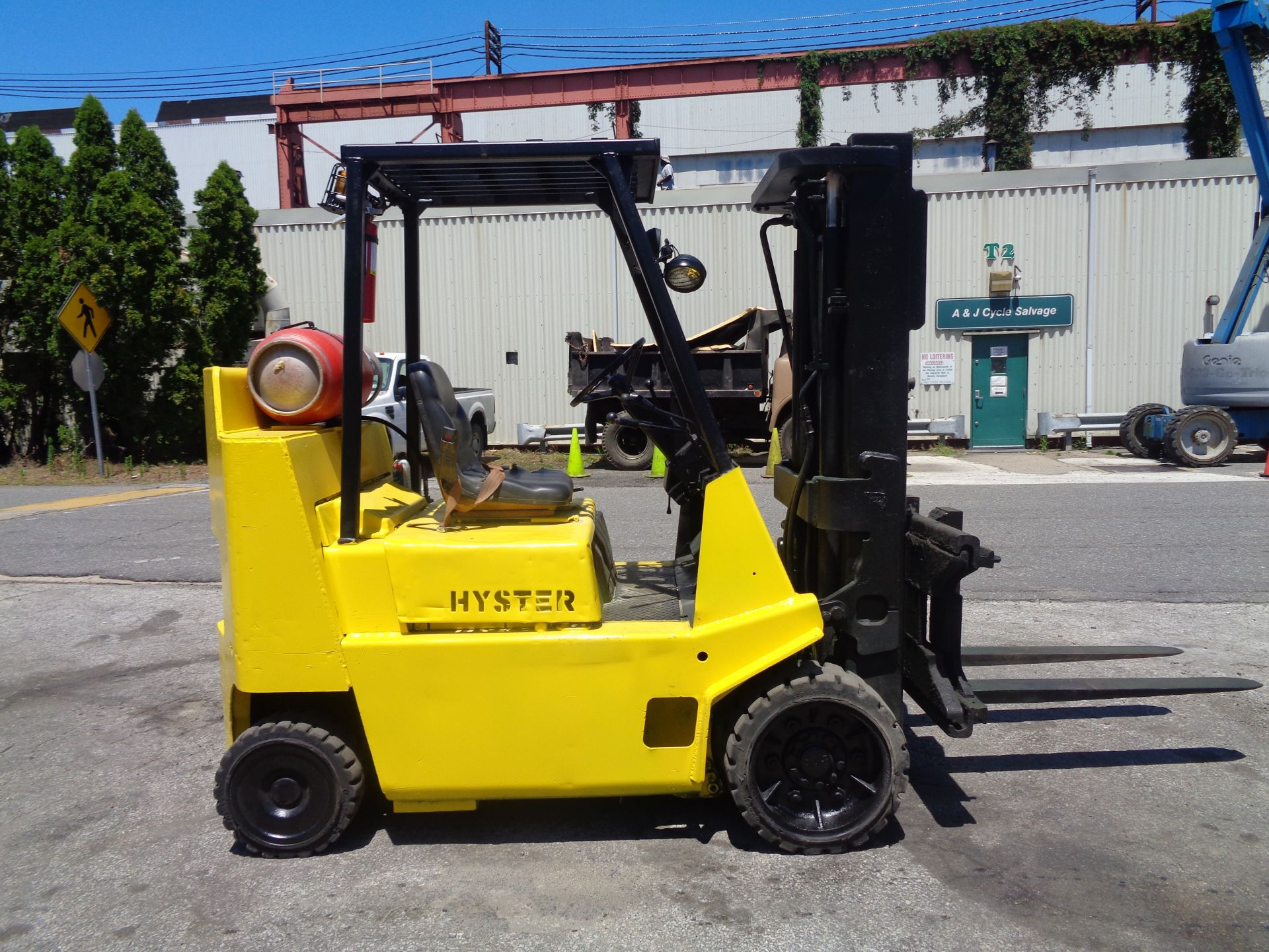 Hyster S80XL 8,000 lbs Forklift - Image 11 of 13