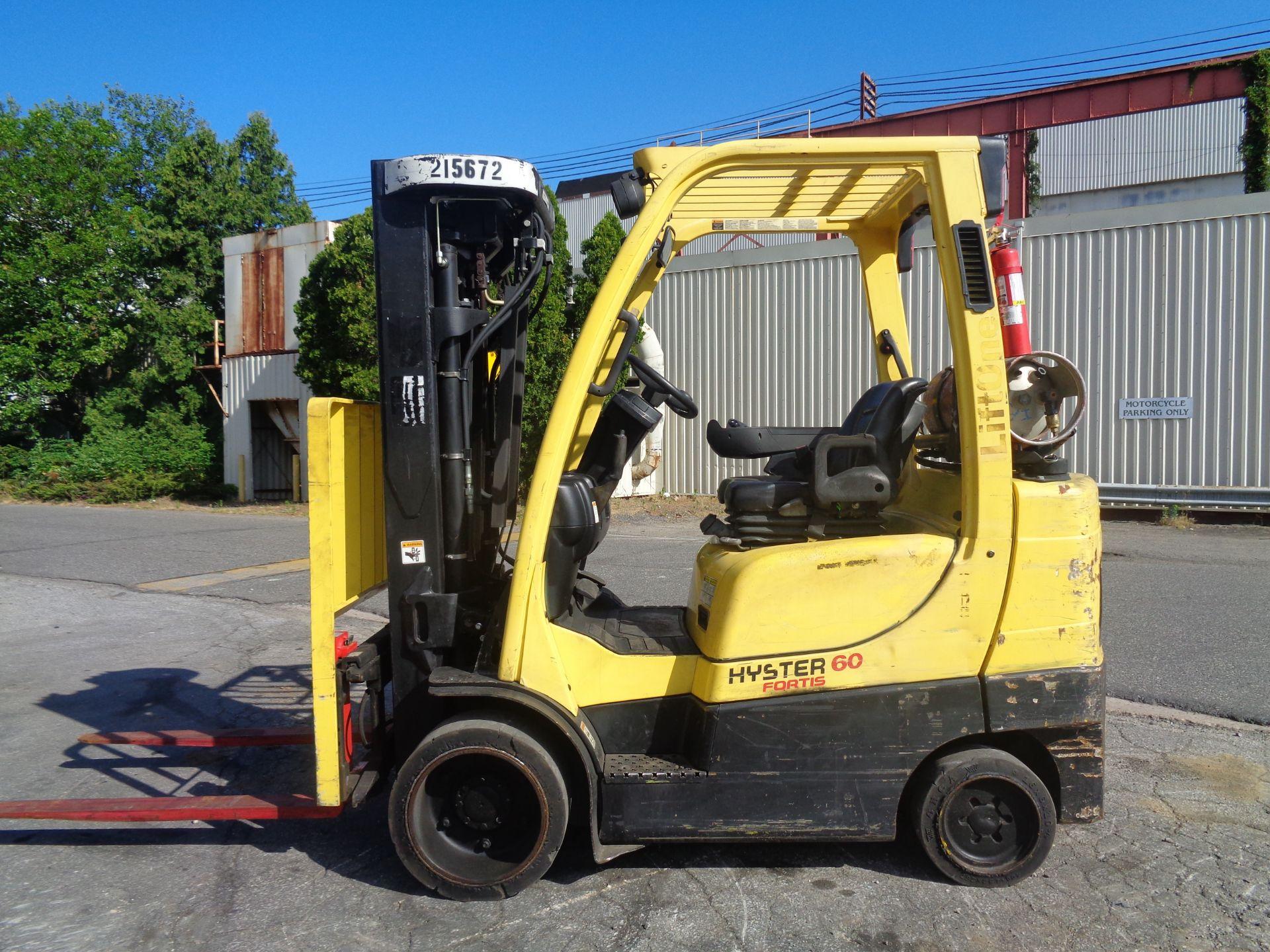 2012 Hyster S60FT 6,000lb Forklift - Quad Mast - Image 2 of 13