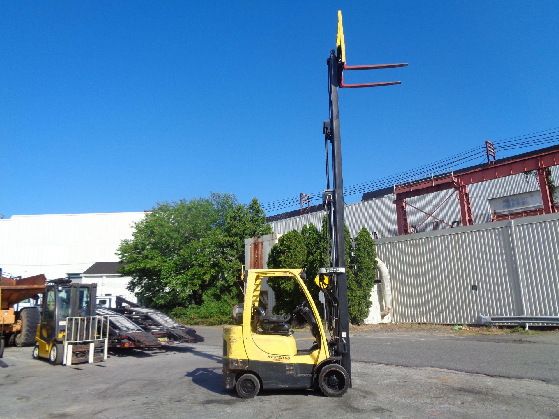 2012 Hyster S60FT 6,000lb Forklift - Quad Mast - Image 11 of 13