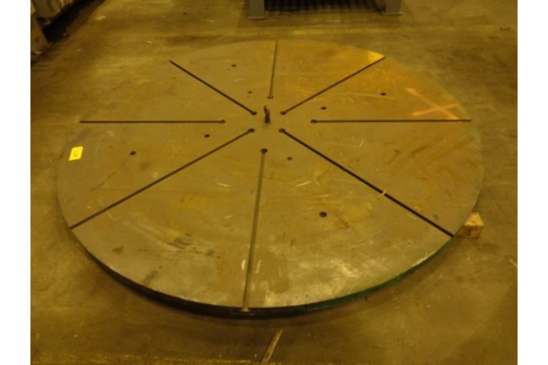 Lot 16a - 96 in x 2in T Slotted Face Plate