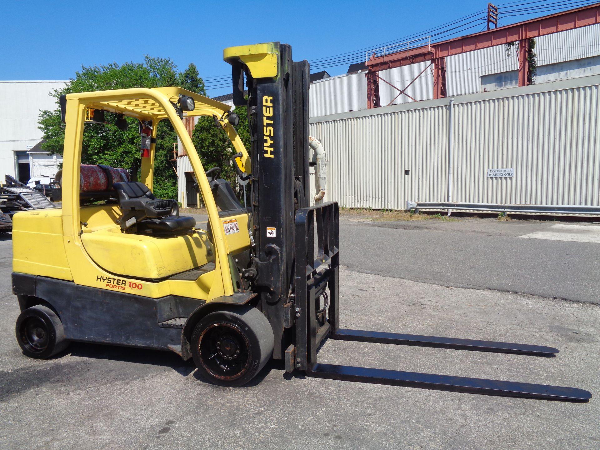 Hyster S100FT 10,000lb Forklift - Image 10 of 19