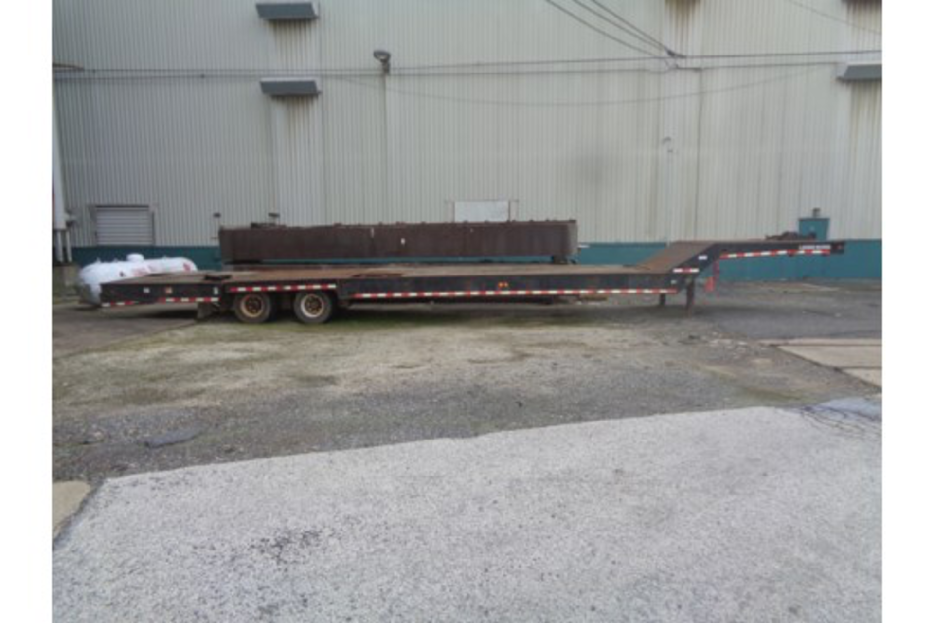 Lot 29 - 2003 Load King HFT70 Trailer with Hydraulic Beaver Tail