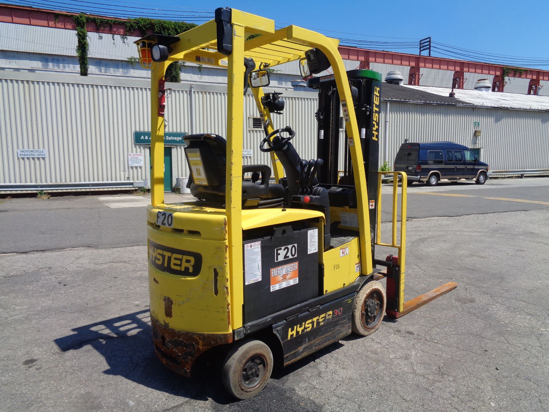 2016 Hyster E30XN 3,000lb Forklift - Image 2 of 18