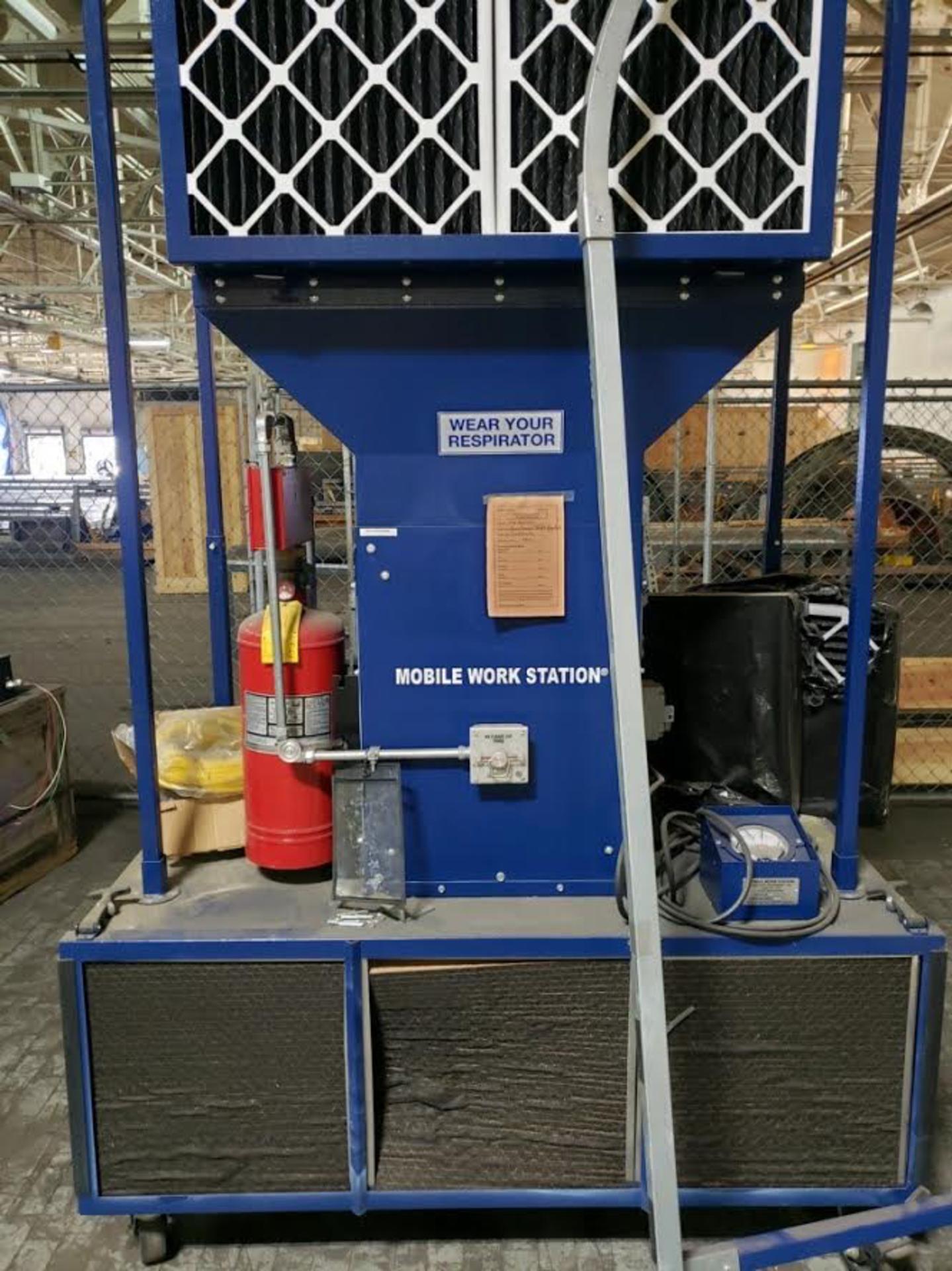 Lot 26b - Portable Spray Booth