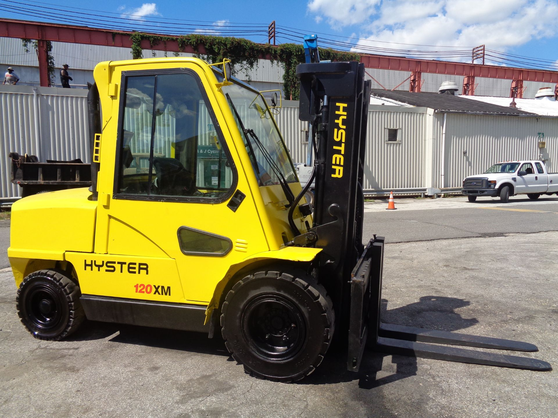 Hyster H120XL 12,000lb Forklift - Image 4 of 15