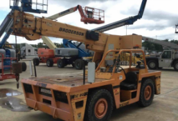2007 Broderson IC-80-1G 8.5 Ton 4x2 Carry Deck Crane