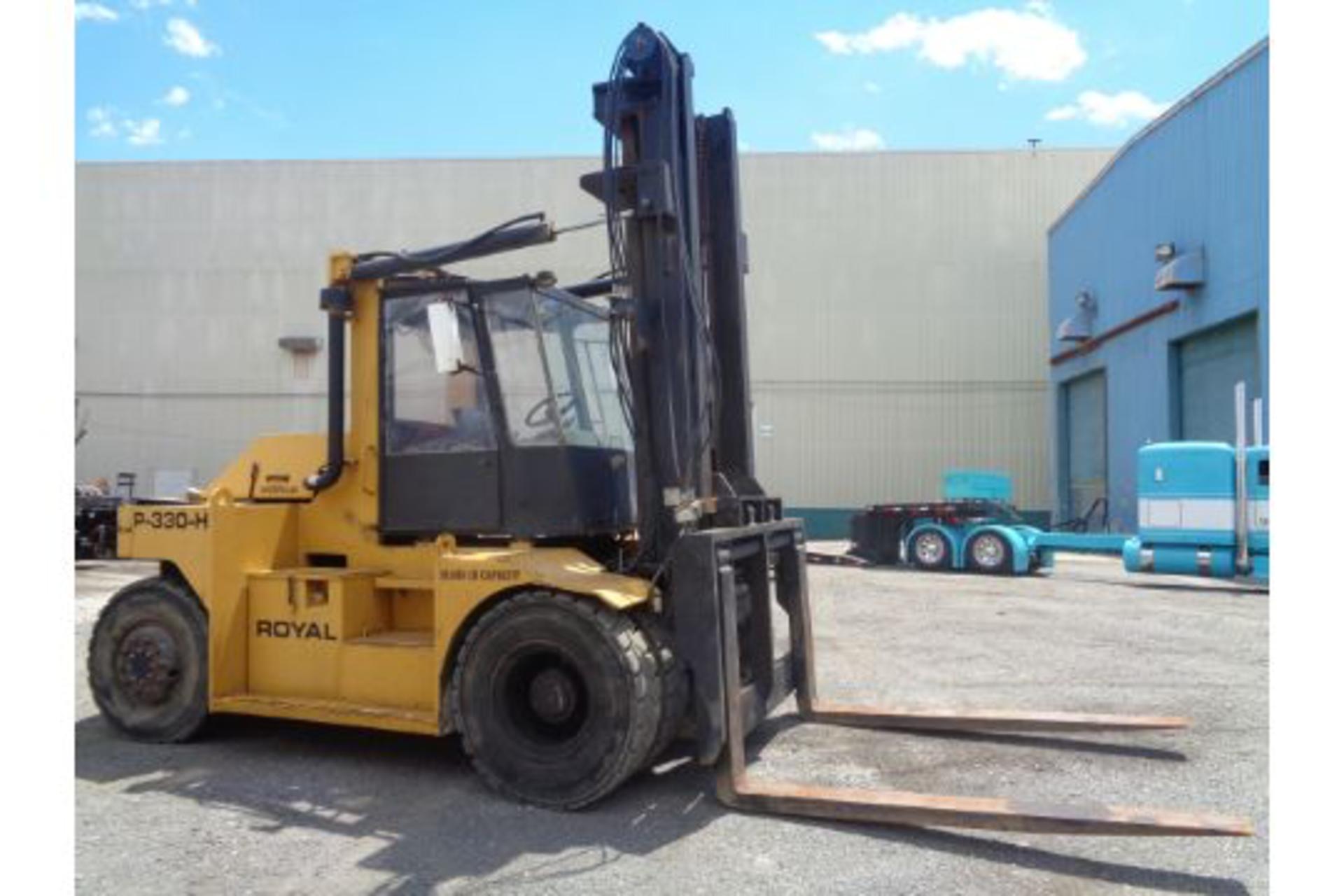 1998 Royal P330H 36,000lb Forklift - Image 10 of 19