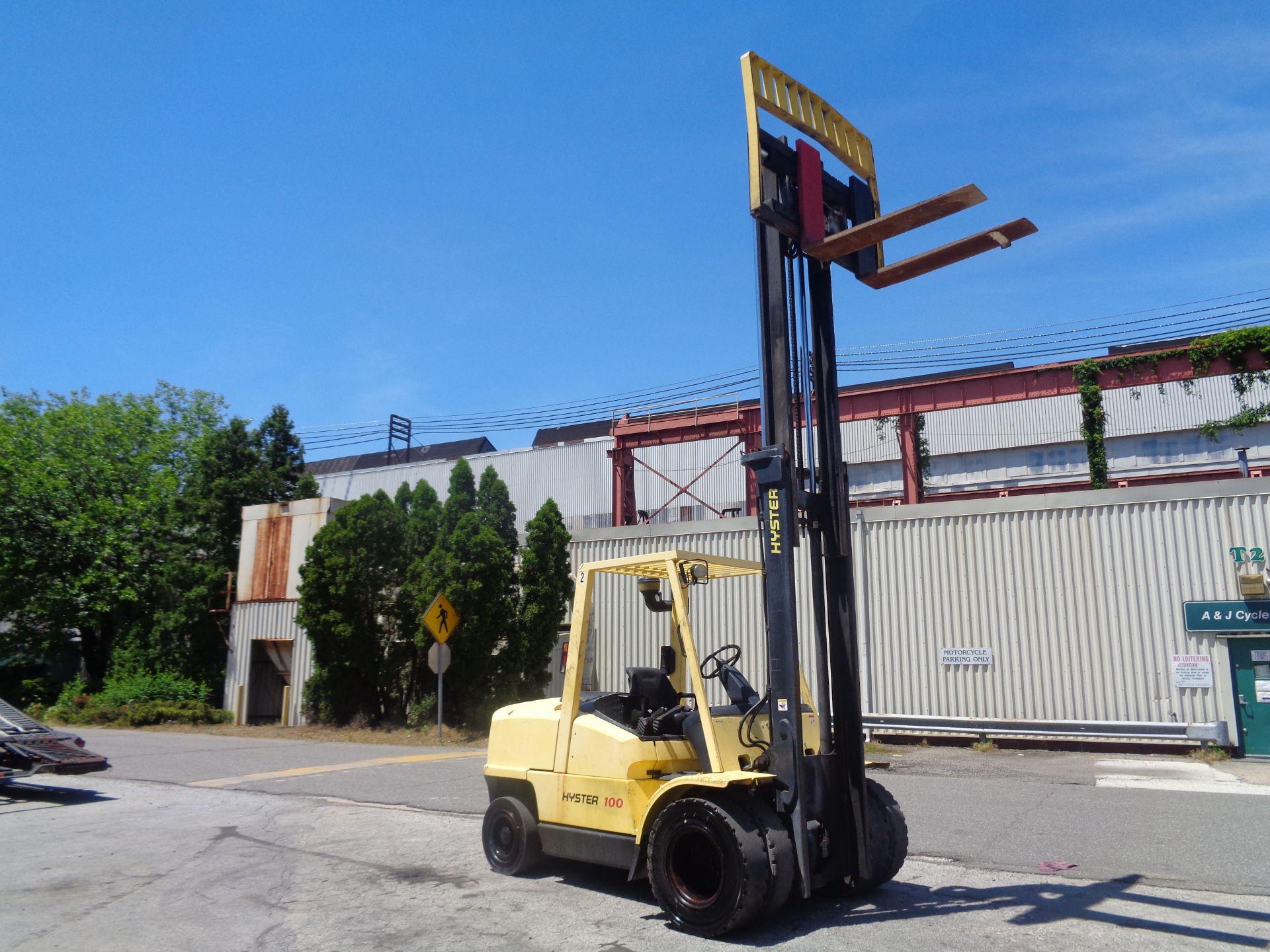 Hyster H100XM 10,000lb Forklift - Image 8 of 10