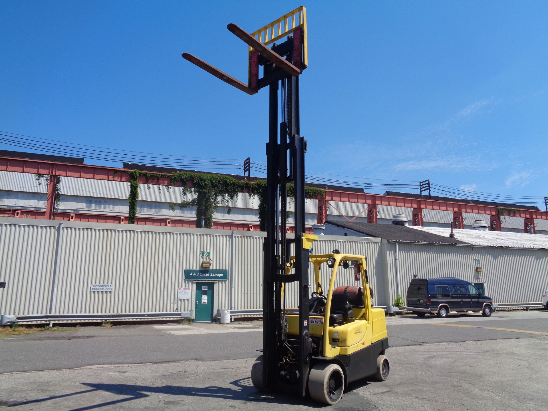 Hyster S100FT 10,000lb Forklift - Image 12 of 17
