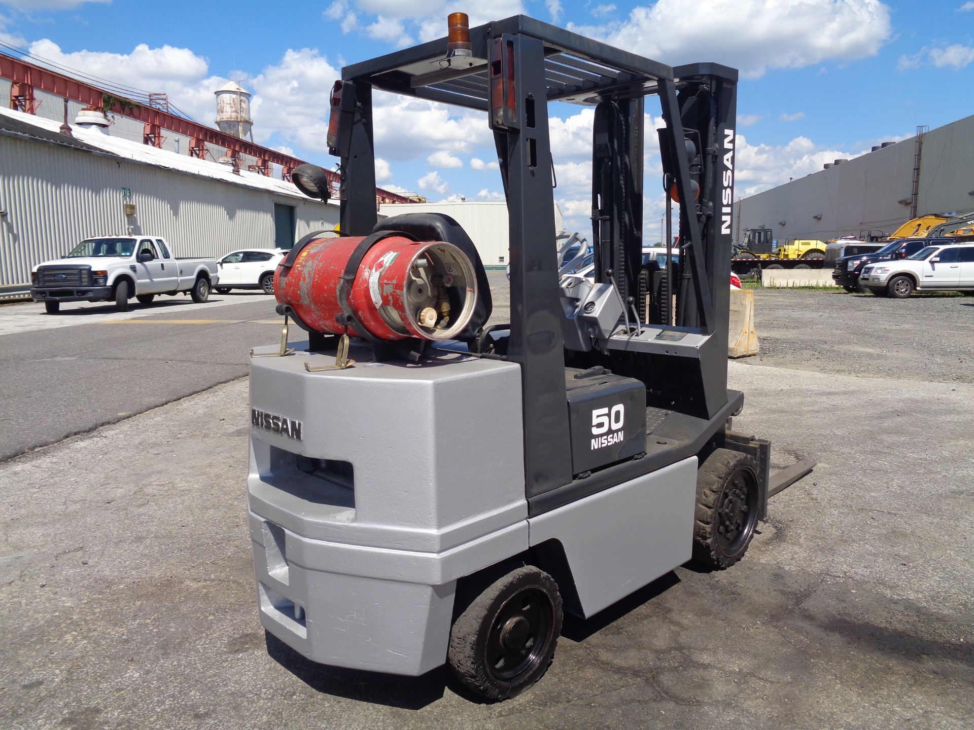 Nissan KCPH02A25PV 4,400 lb Forklift - Image 7 of 17