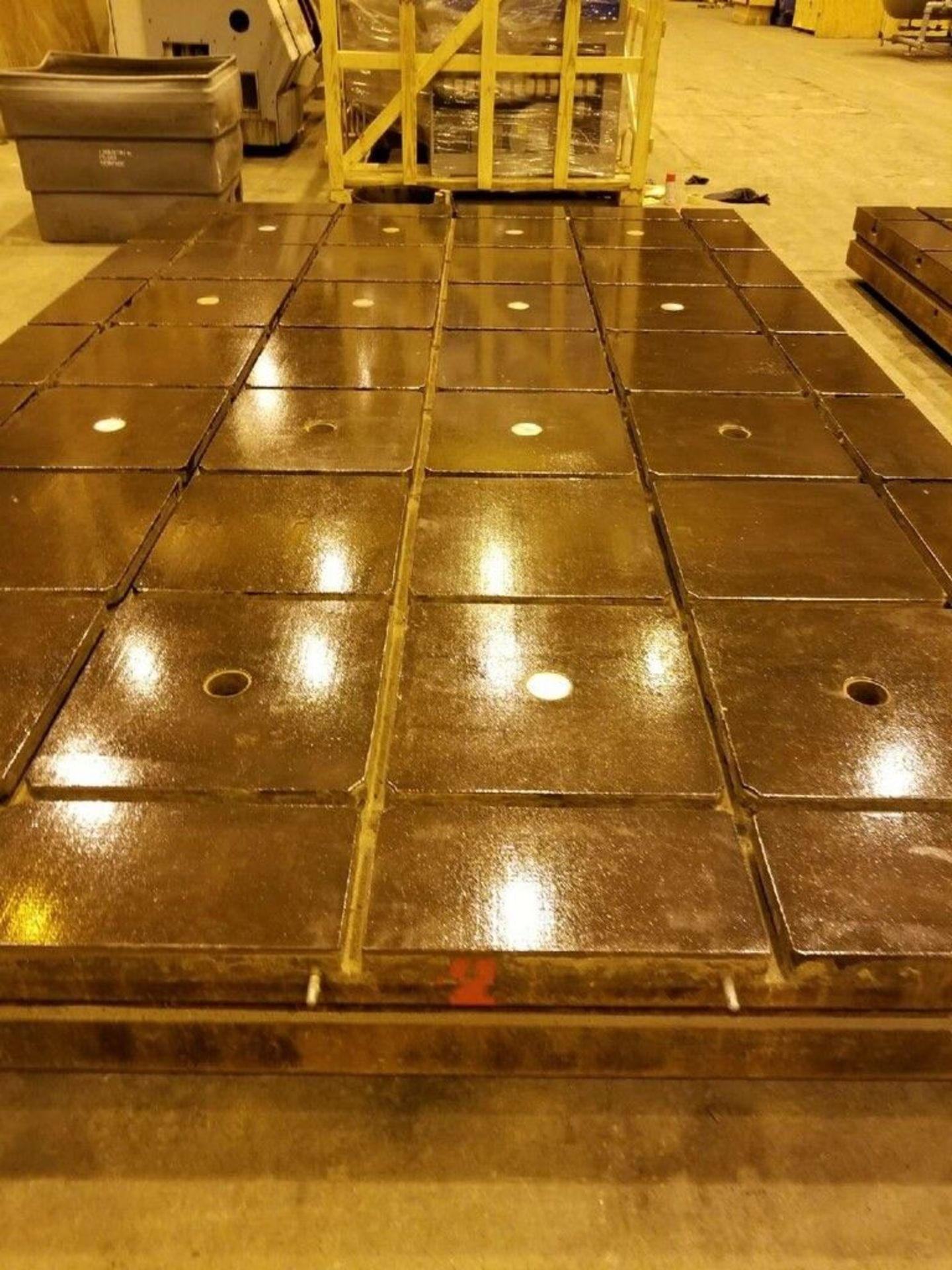 Lot 16 - T Slotted Floor Plates 16ft x 10ftx 12in
