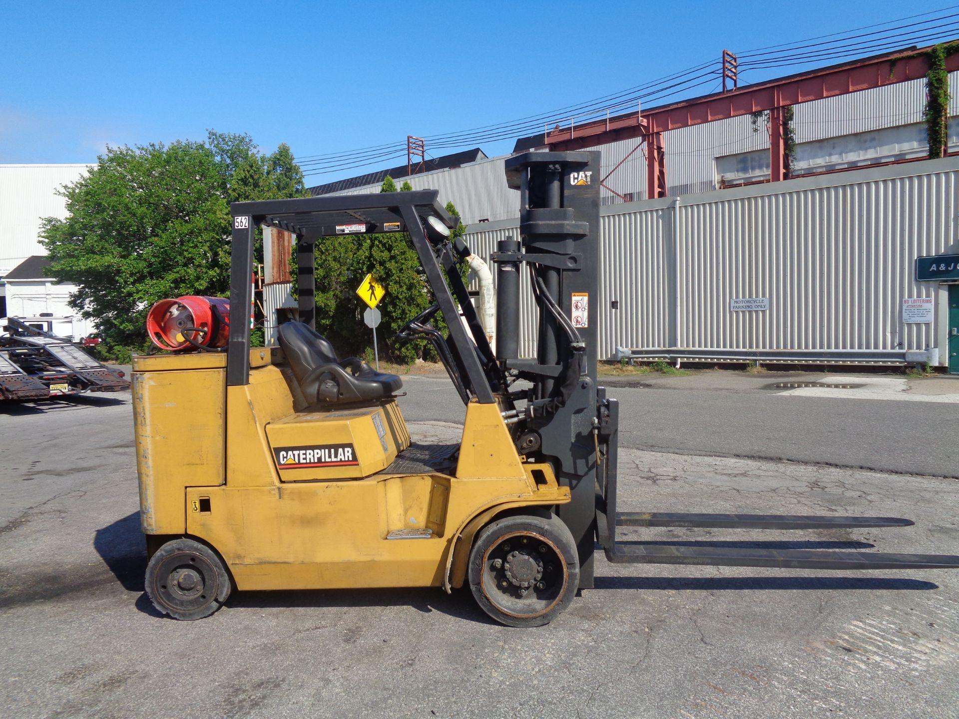 Caterpillar GC55KSTR 11,000lb Forklift - Image 6 of 14