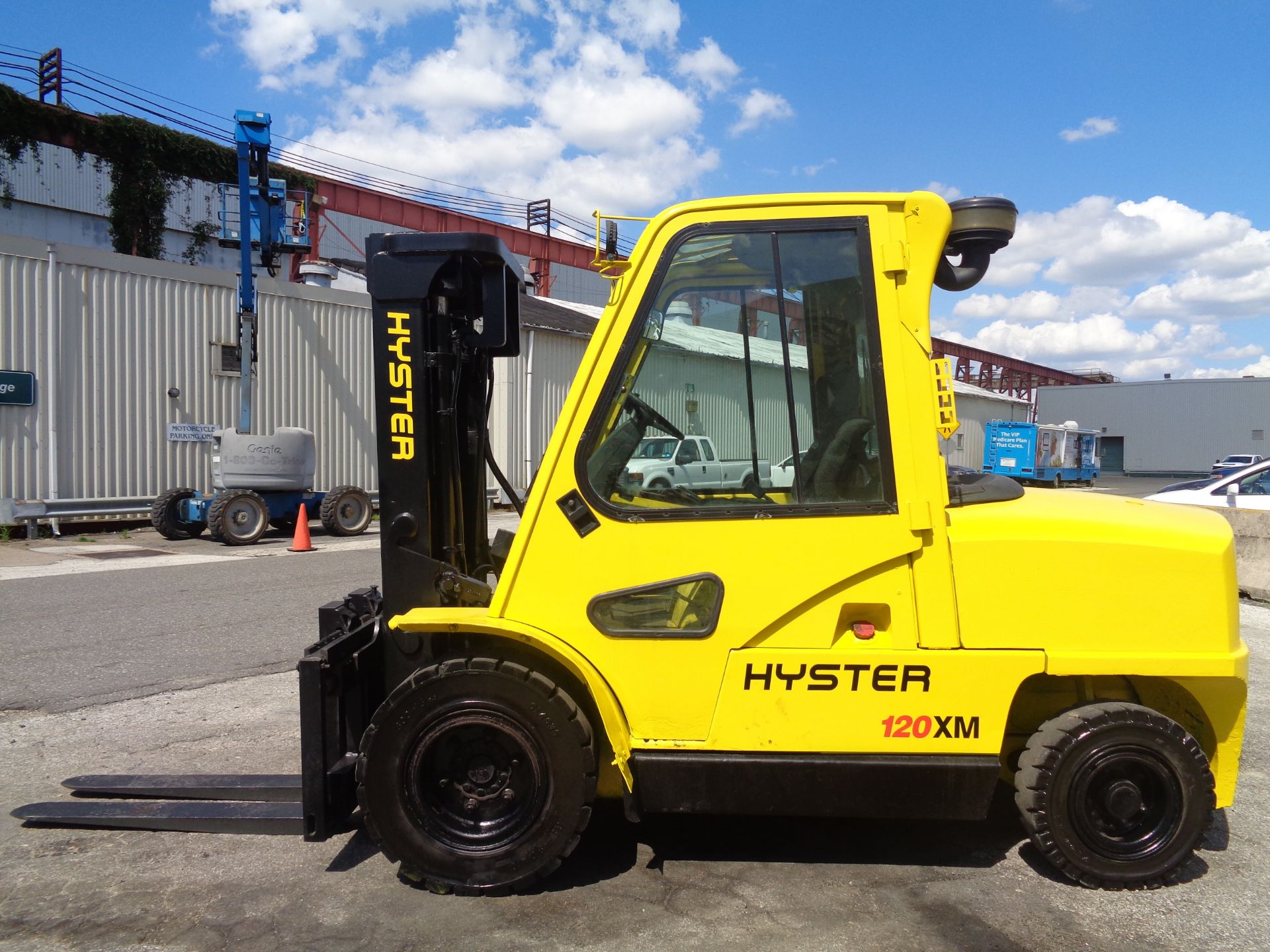 Hyster H120XL 12,000lb Forklift - Image 6 of 15