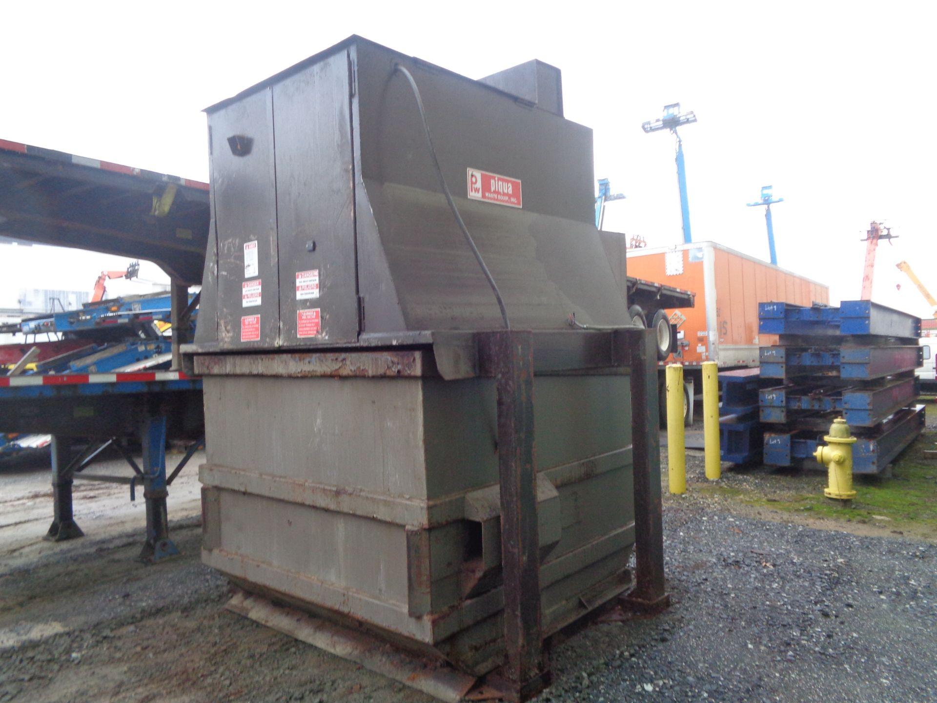 Lot 10 - Trash Dumpster Hydraulic Compactor