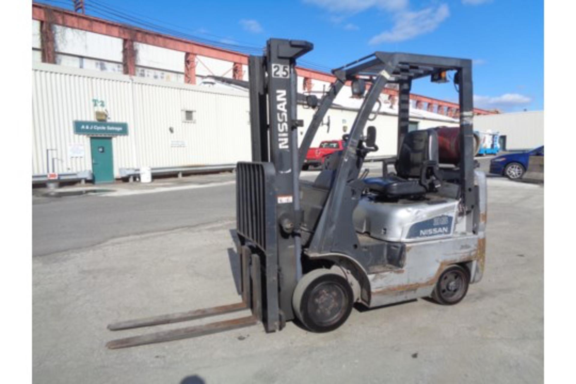 Nissan MCPL01A18LV 3500lb Forklift - Image 7 of 16