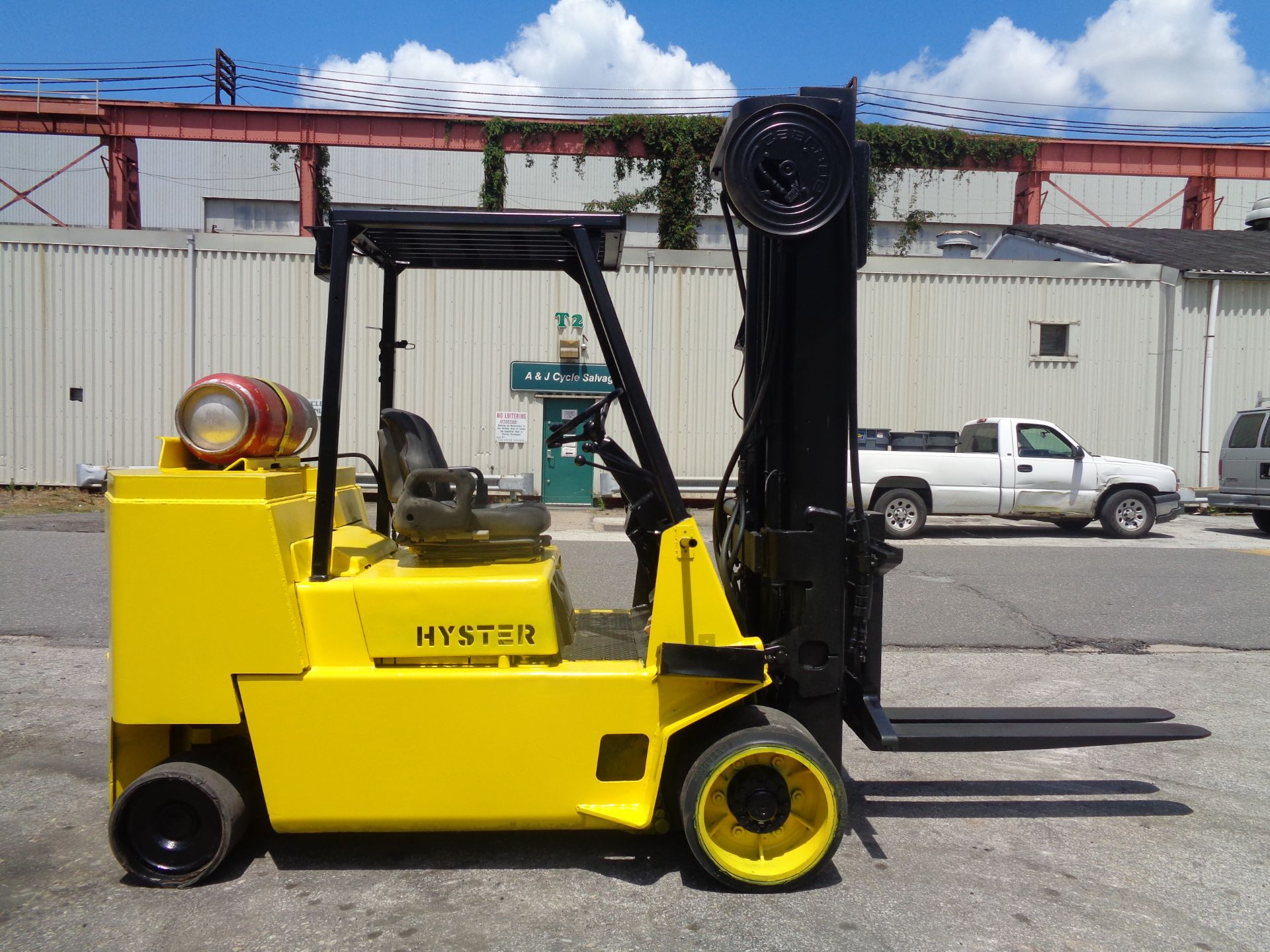 Hyster S120XL 12,000lb Forklift - Image 8 of 14