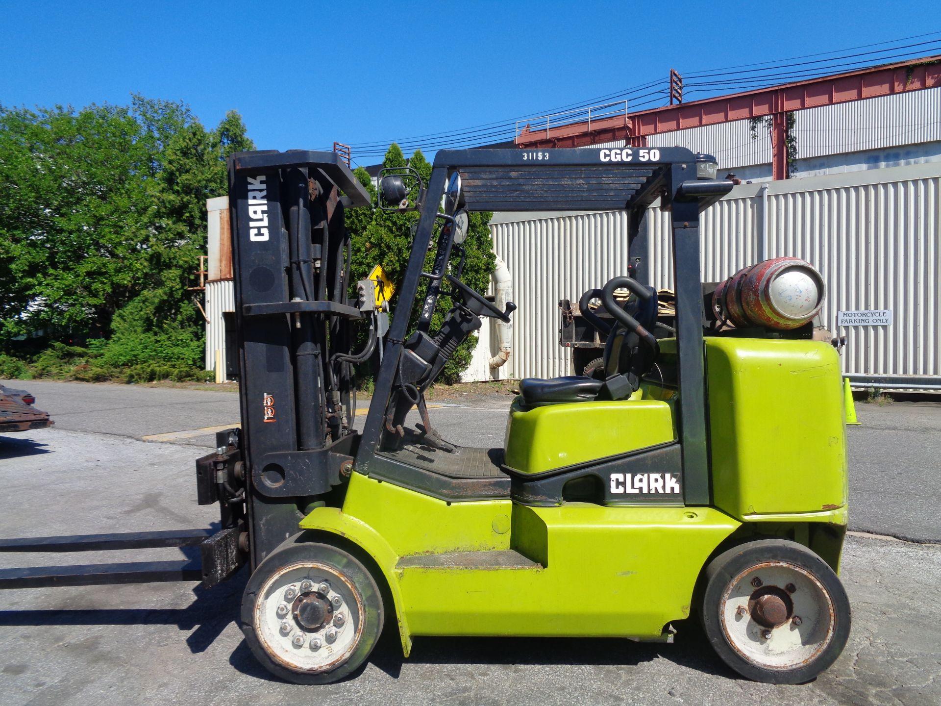 2014 Clark CGC500 10,000 lb Forklift