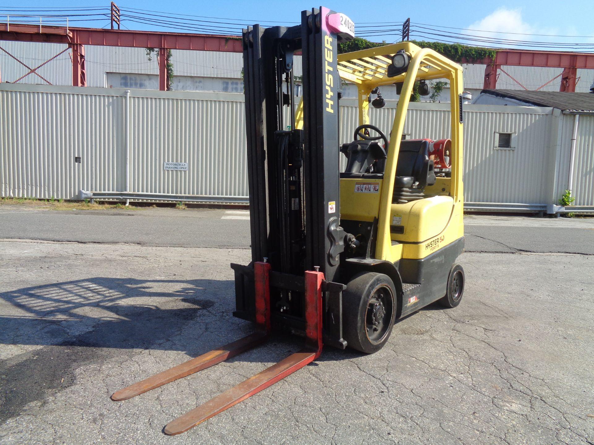 2015 Hyster S50FT 5,000 lb Forklift - Image 2 of 17