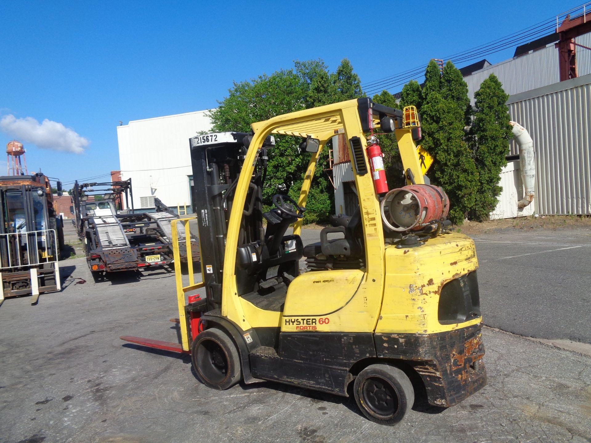 2012 Hyster S60FT 6,000lb Forklift - Quad Mast - Image 4 of 13