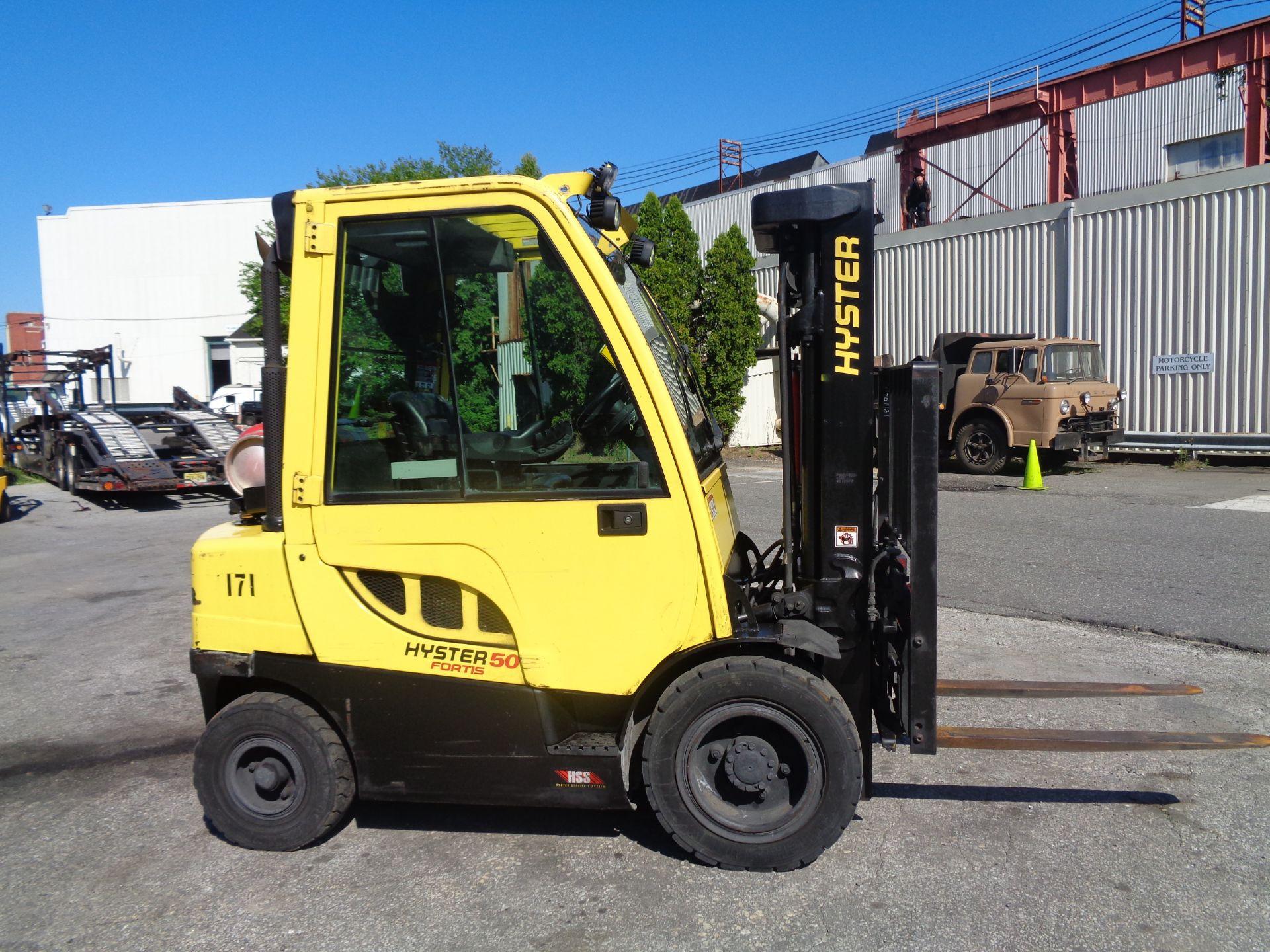 2015 Hyster H50FT 5,000 lb Forklift - Image 5 of 12