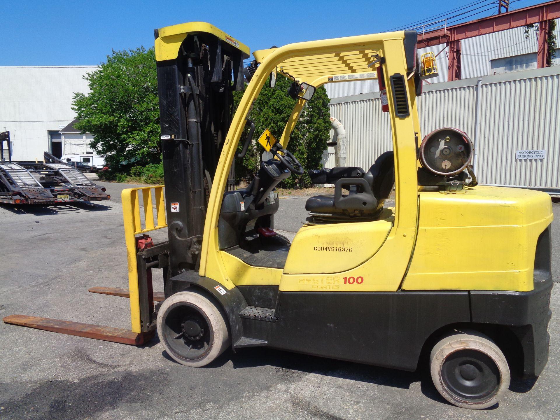 Hyster S100FT 10,000lb Forklift - Image 4 of 17