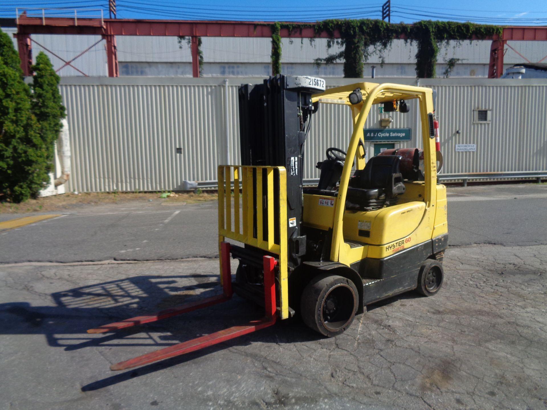 2012 Hyster S60FT 6,000lb Forklift - Quad Mast - Image 5 of 13